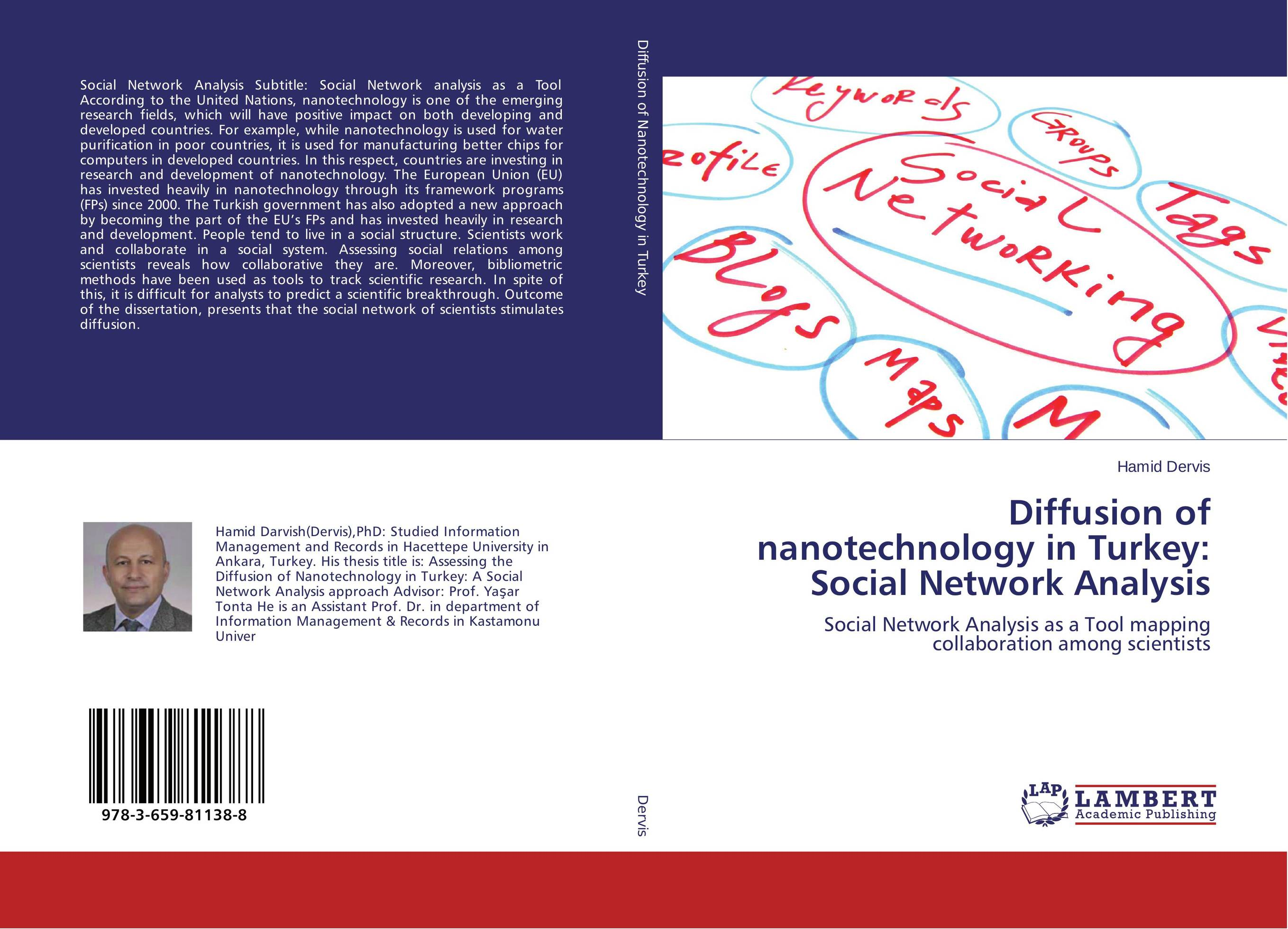купить Diffusion of nanotechnology in Turkey: Social Network Analysis недорого