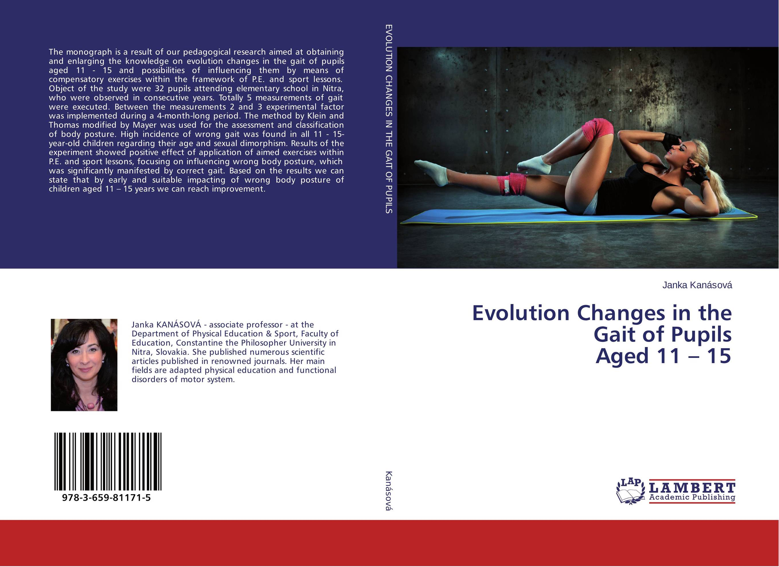 Evolution Changes in the Gait of Pupils Aged 11 – 15 a state of trance 15 years 2 cd