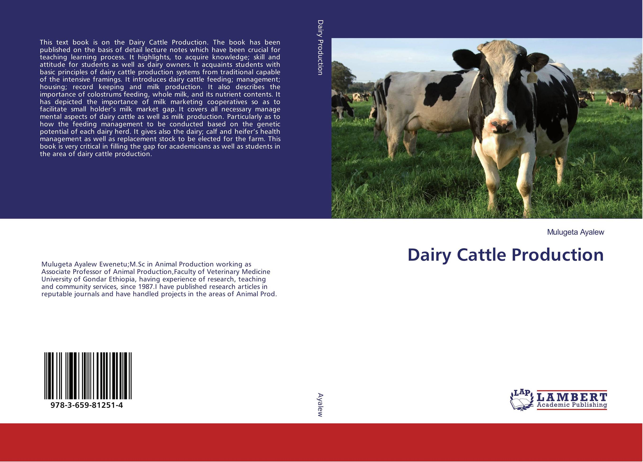 Dairy Cattle Production therapeutic management of infertility in cattle