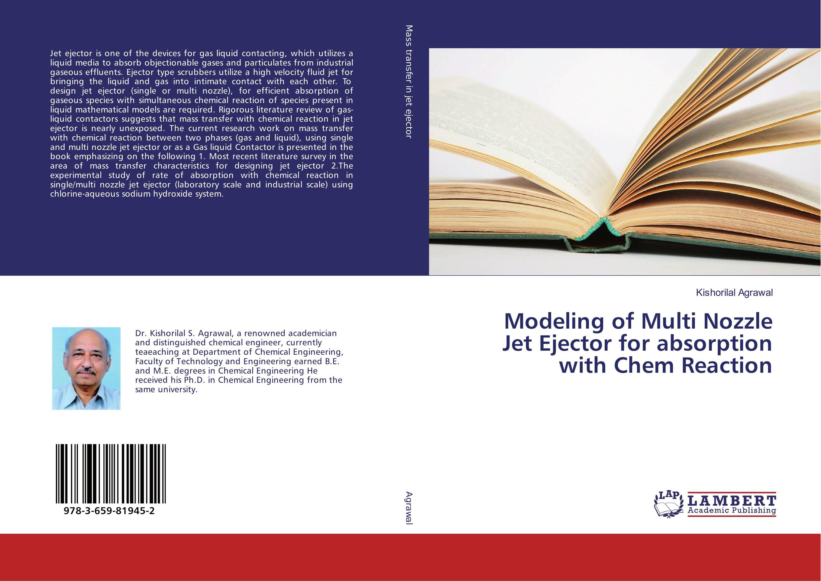Modeling of Multi Nozzle Jet Ejector for absorption with Chem Reaction