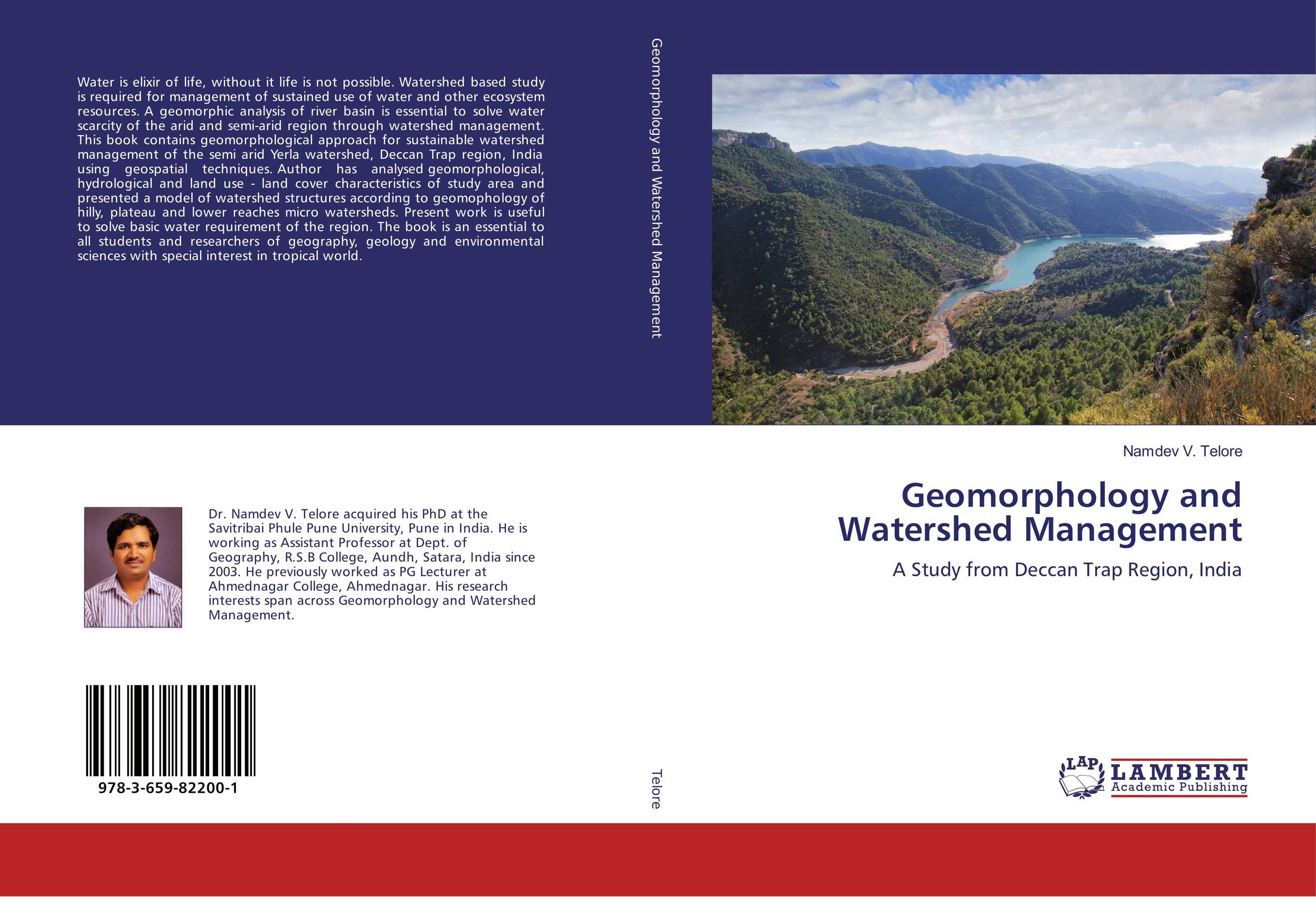 Geomorphology and Watershed Management geochemistry of groundwater in a river basin of andhra pradesh india