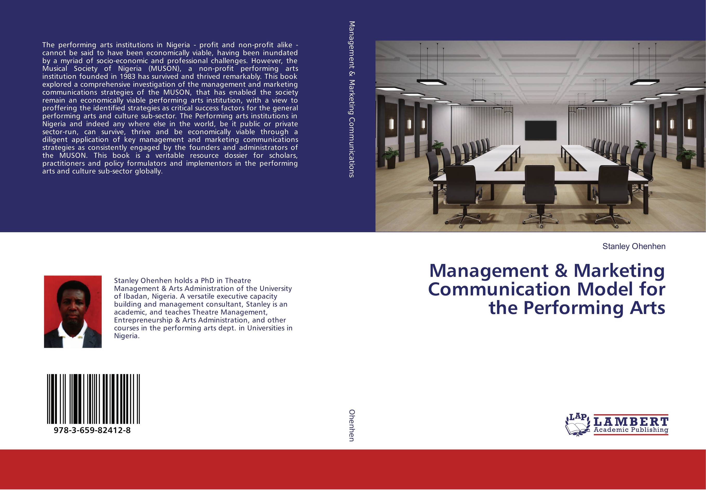 Management & Marketing Communication Model for the Performing Arts agricultural marketing management