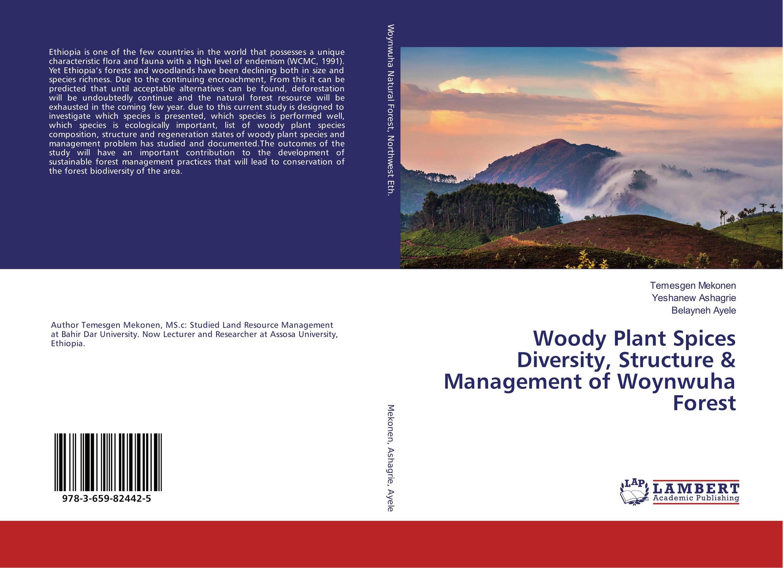 купить Woody Plant Spices Diversity, Structure & Management of Woynwuha Forest недорого