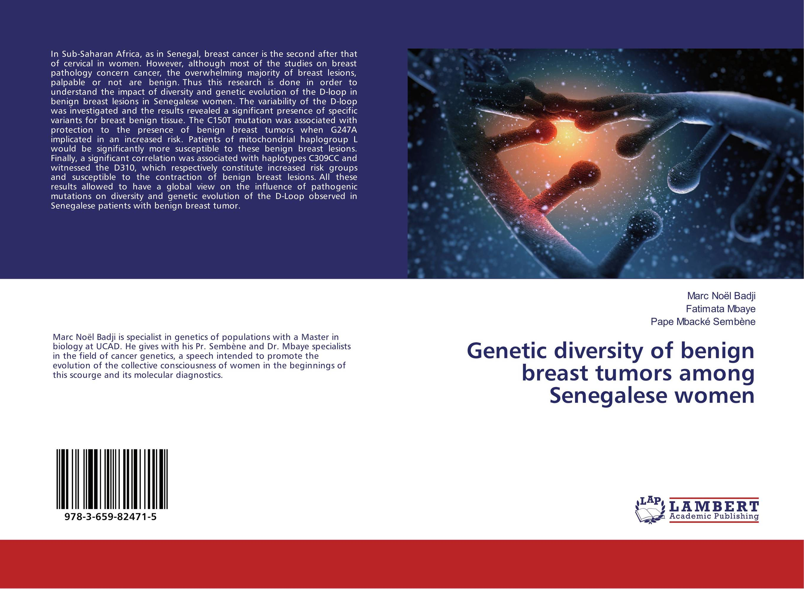 Фото Genetic diversity of benign breast tumors among Senegalese women cervical cancer in amhara region in ethiopia