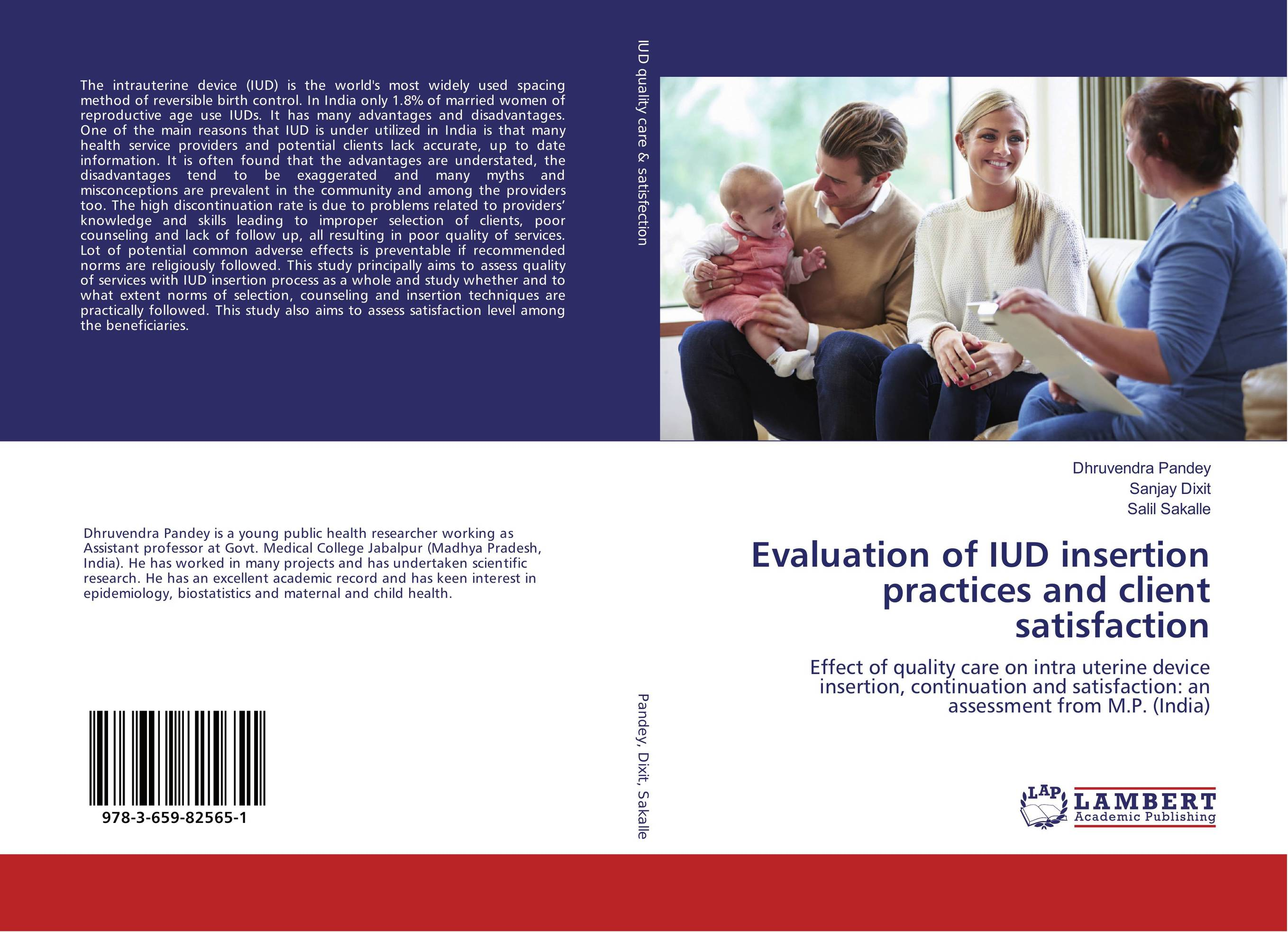 Evaluation of IUD insertion practices and client satisfaction