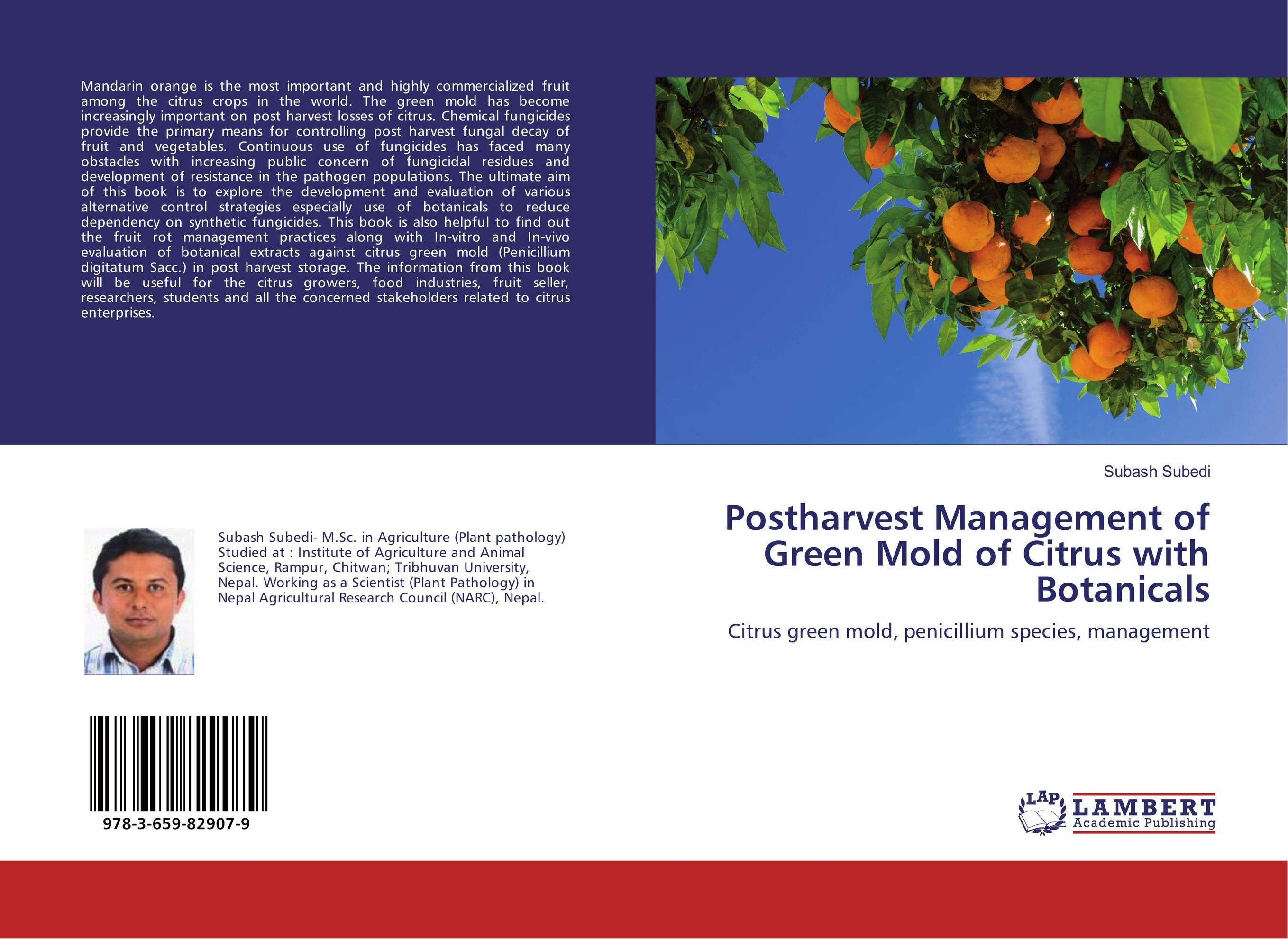 Postharvest Management of Green Mold of Citrus with Botanicals