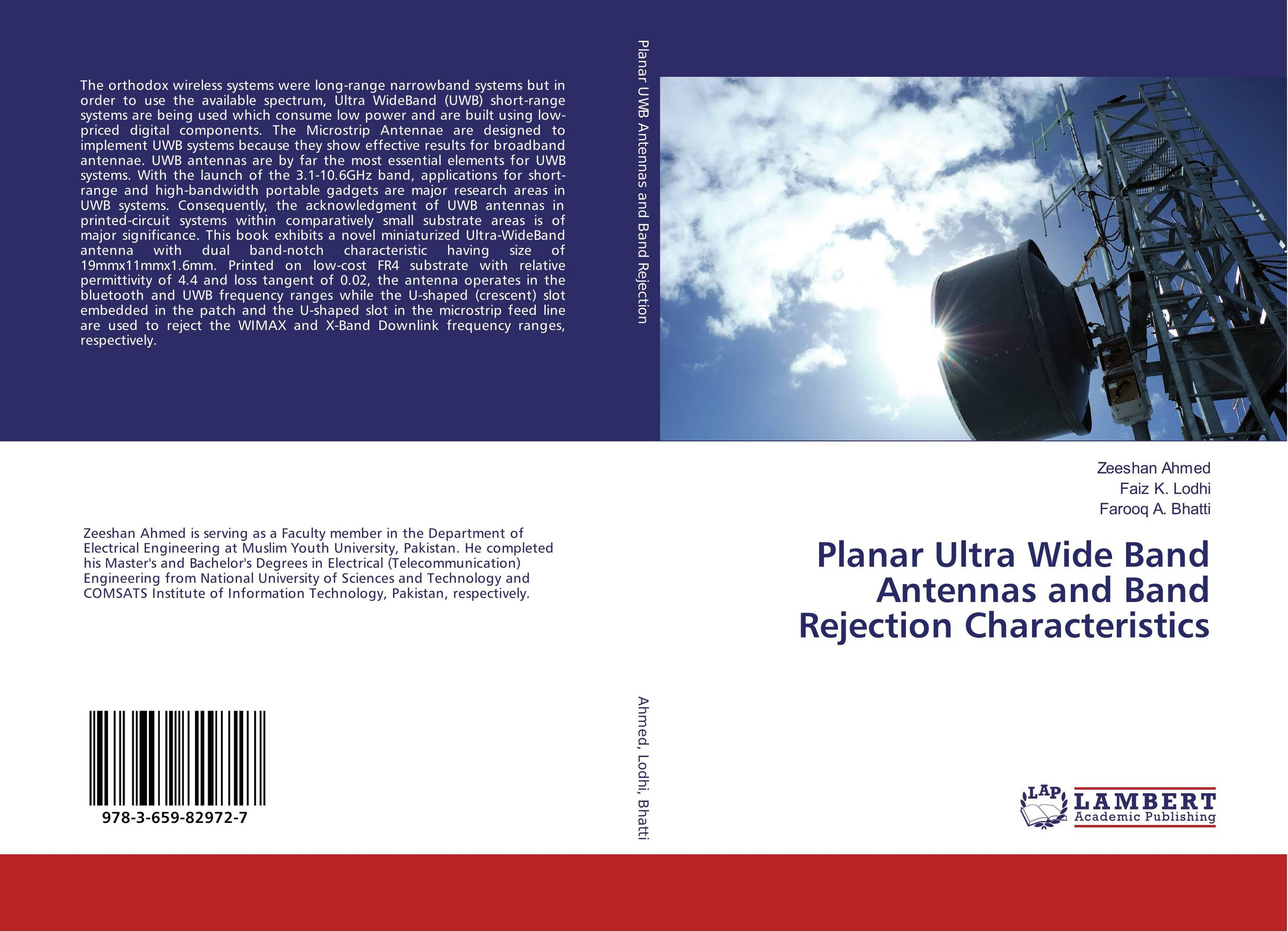 Planar Ultra Wide Band Antennas and Band Rejection Characteristics
