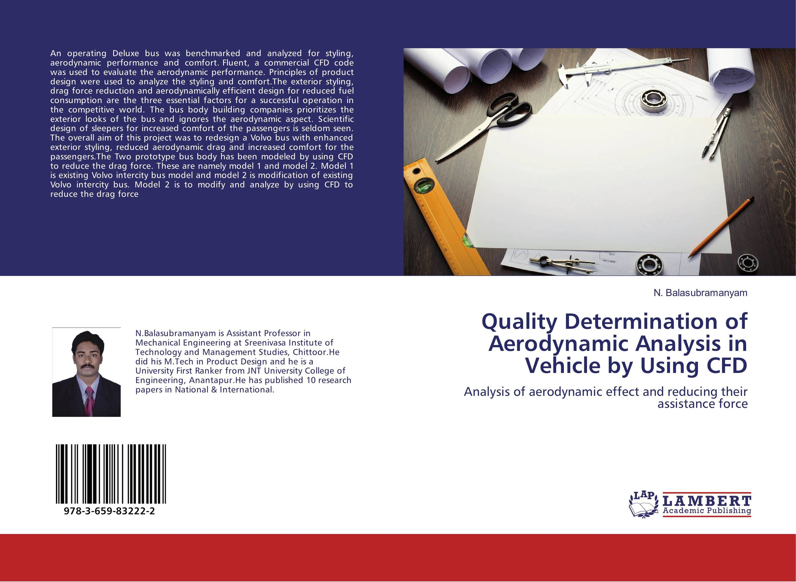 Quality Determination of Aerodynamic Analysis in Vehicle by Using CFD design and verification of bus bridge from ocp to ahb