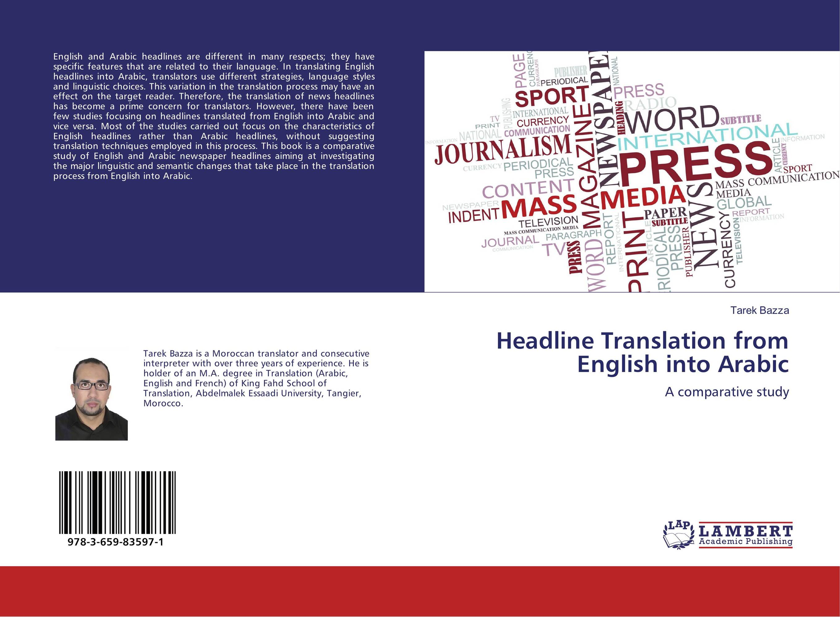 Headline Translation from English into Arabic the translation of figurative language