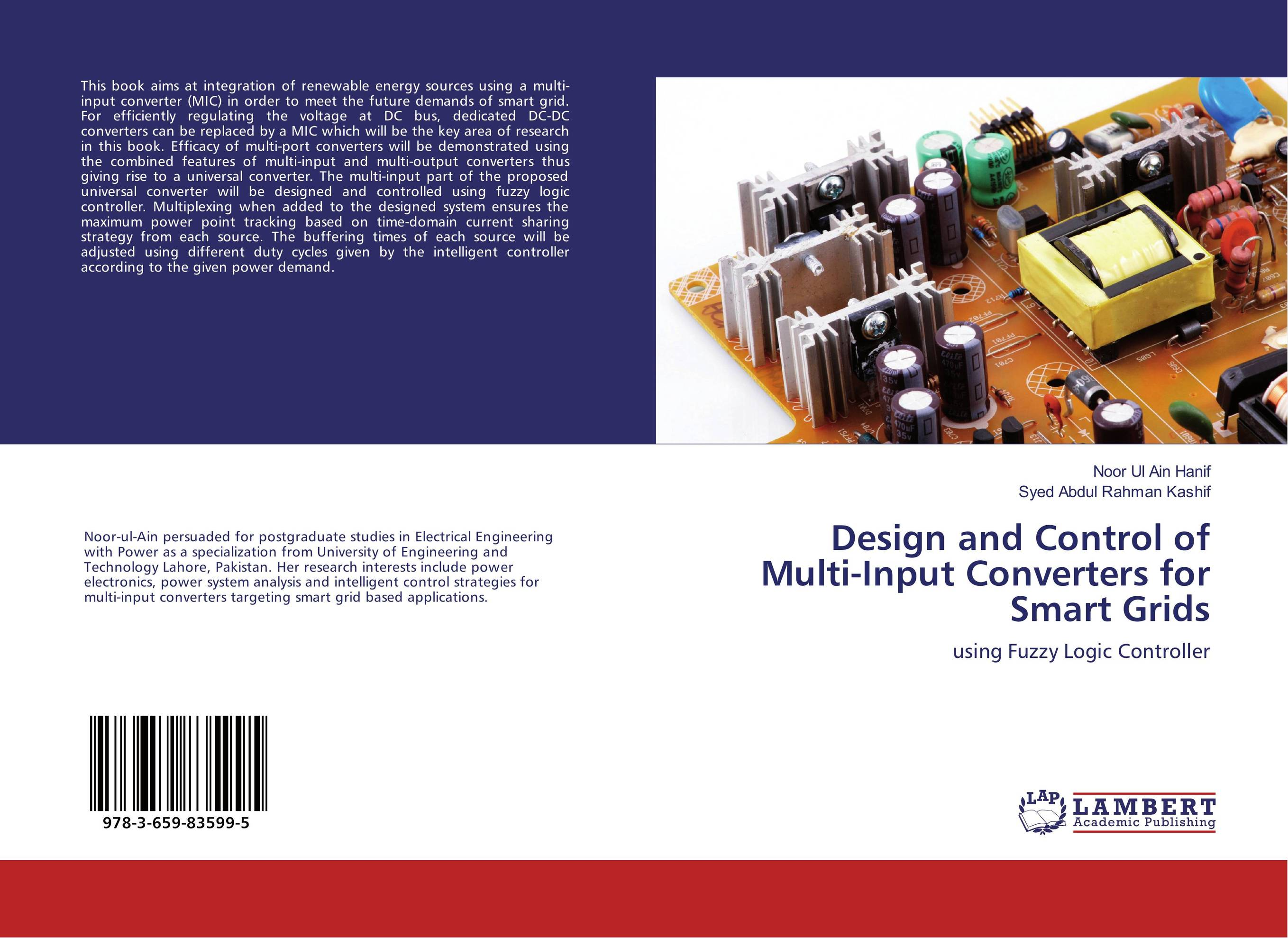 Design and Control of Multi-Input Converters for Smart Grids only plug unified controllers in smart grids by synchronous converter