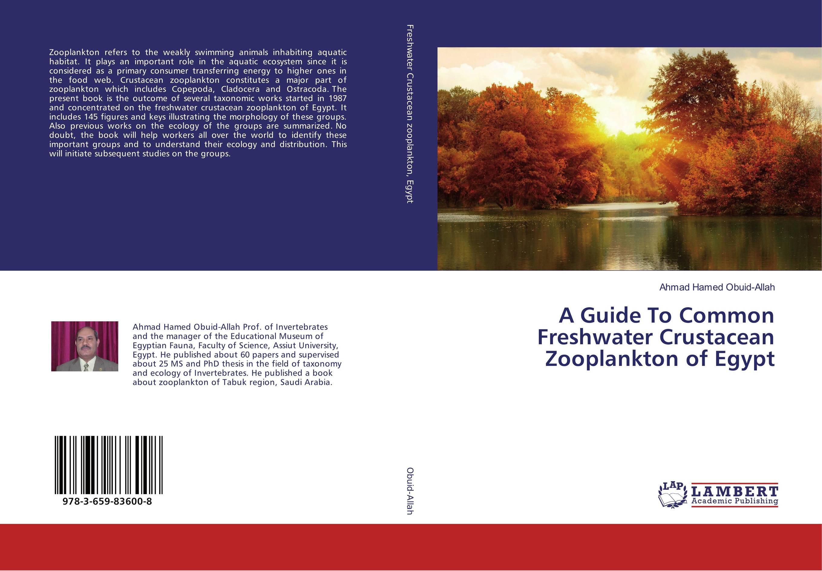 A Guide To Common Freshwater Crustacean Zooplankton of Egypt a guide to common freshwater crustacean zooplankton of egypt