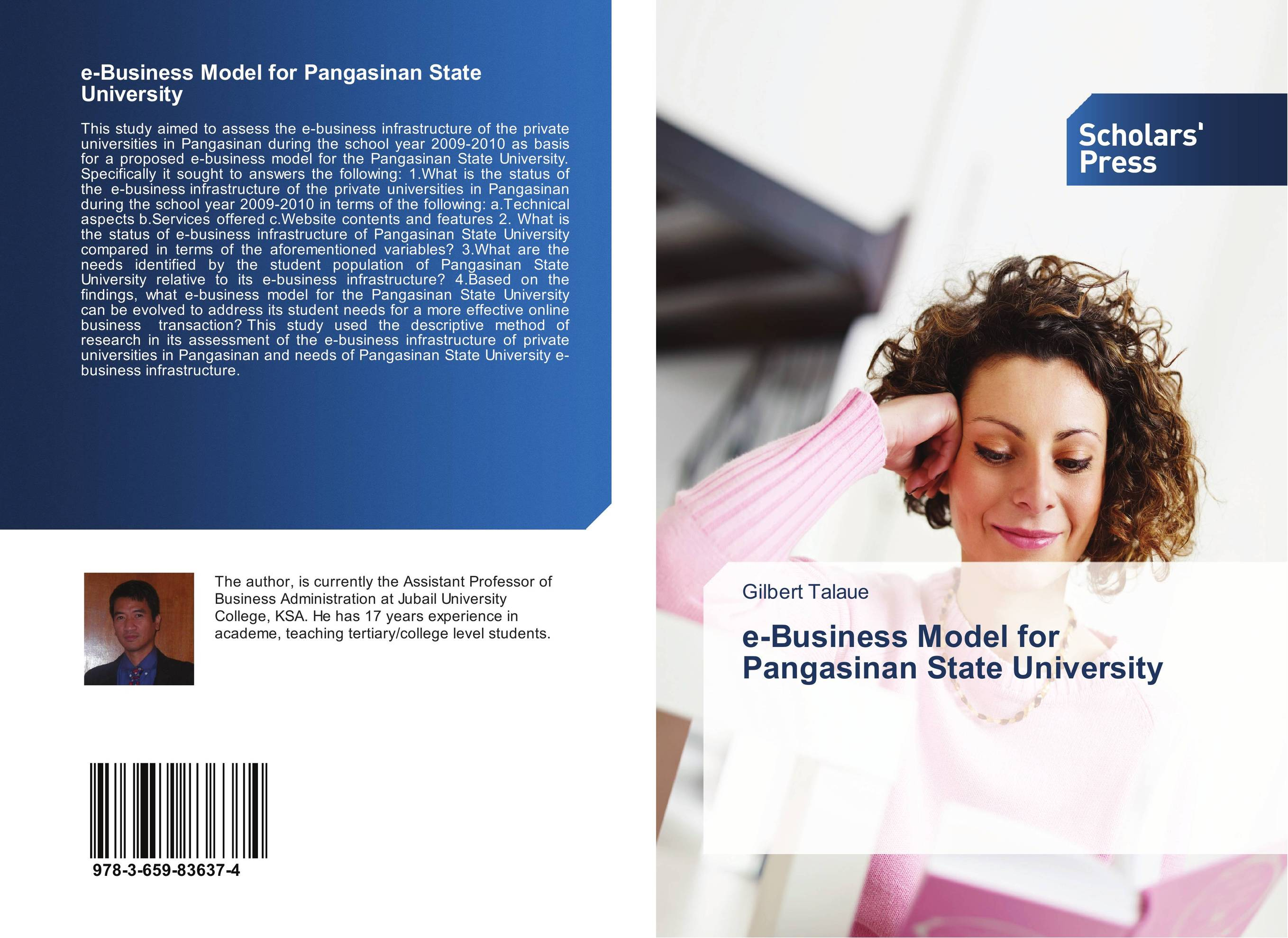 e-Business Model for Pangasinan State University affair of state an