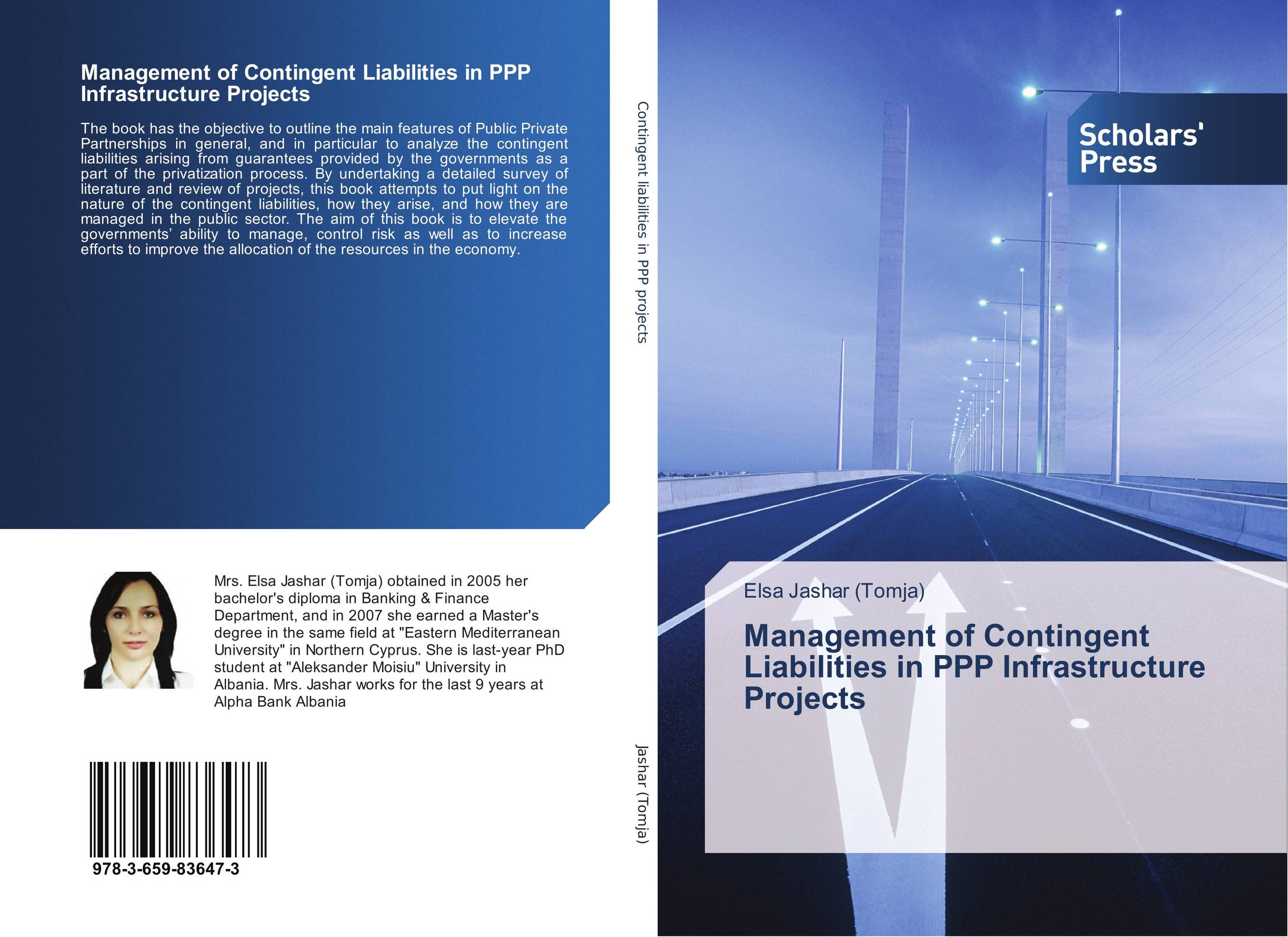 Management of Contingent Liabilities in PPP Infrastructure Projects