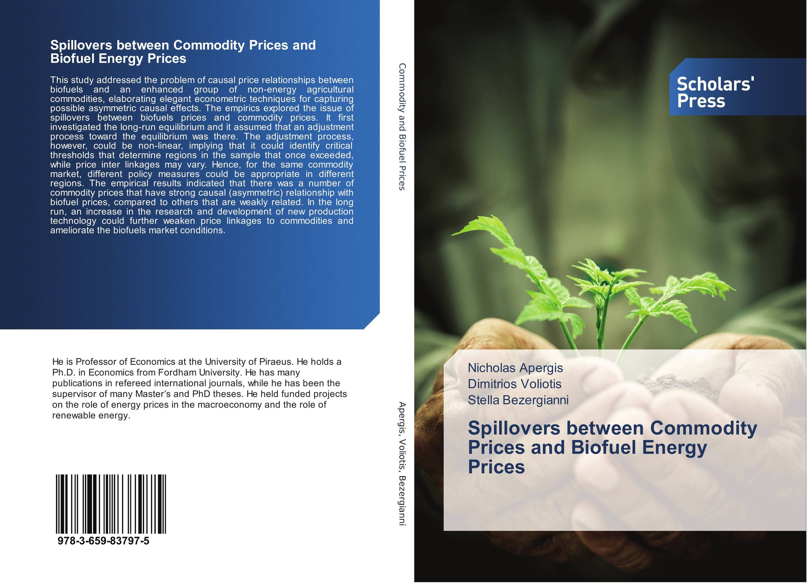 Spillovers between Commodity Prices and Biofuel Energy Prices
