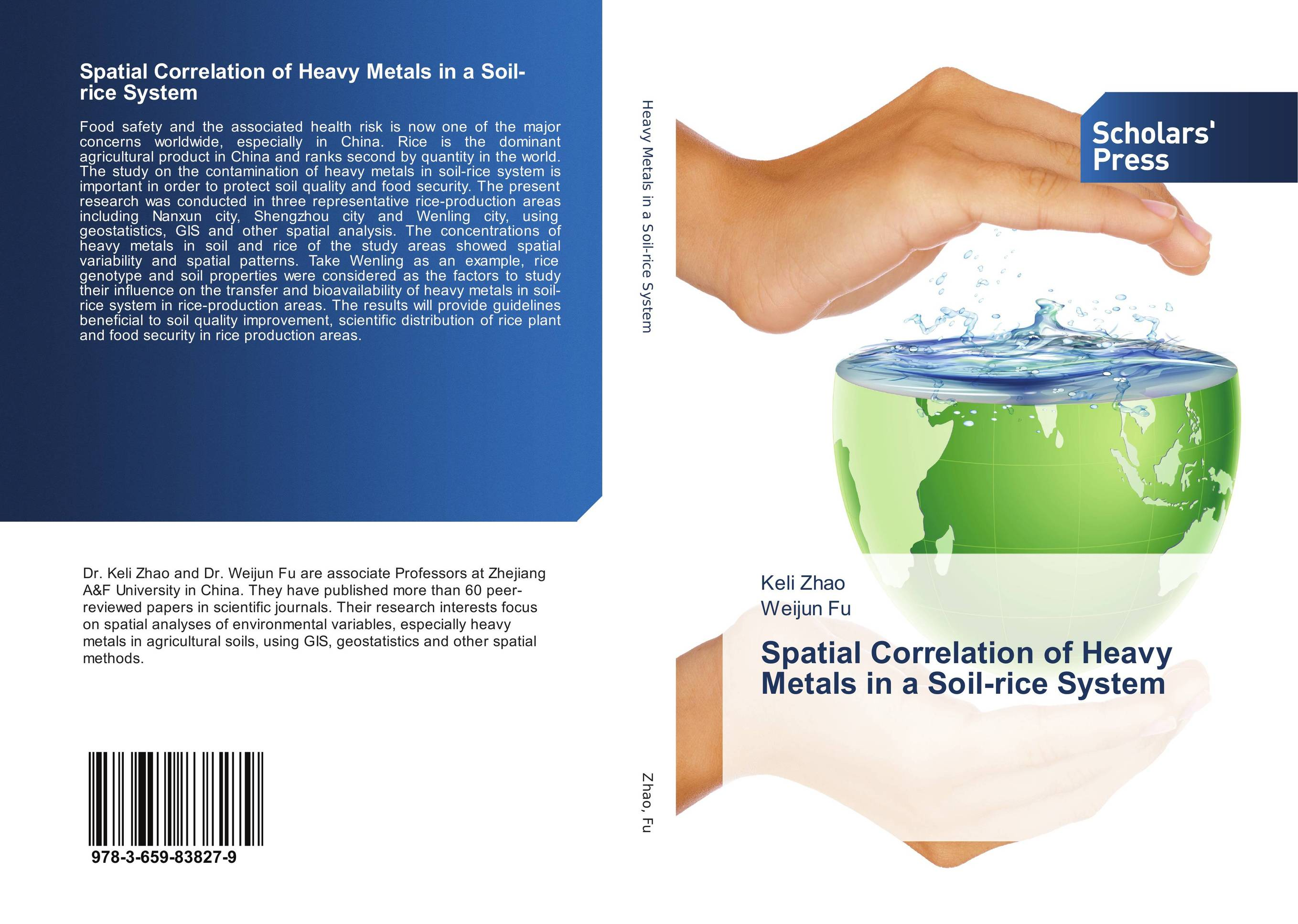 Spatial Correlation of Heavy Metals in a Soil-rice System belousov a security features of banknotes and other documents methods of authentication manual денежные билеты бланки ценных бумаг и документов