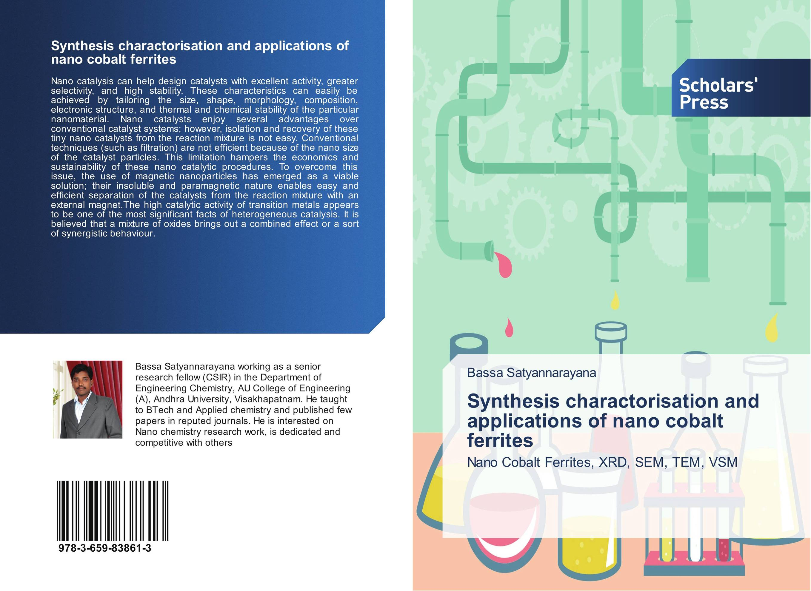 Synthesis charactorisation and applications of nano cobalt ferrites synthesis characterization and applications of nano cdha