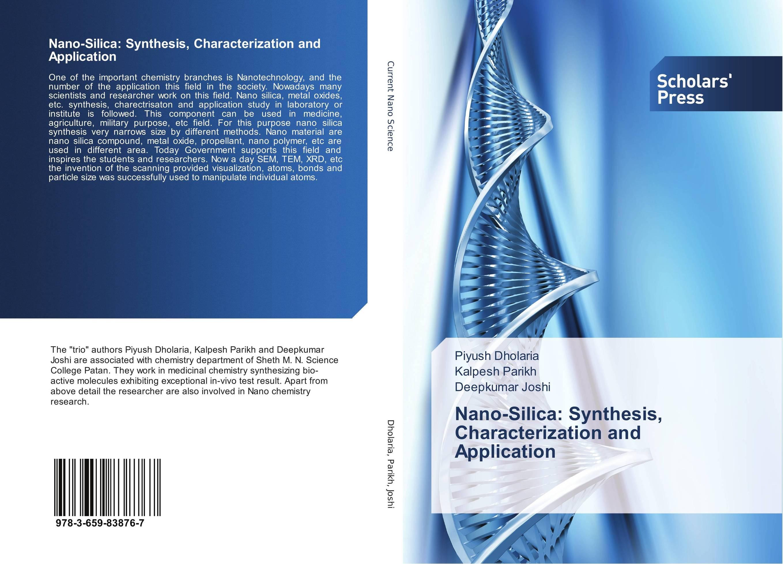Nano-Silica: Synthesis, Characterization and Application kawther ahmed and karima hagagg microwave synthesis and its textile application