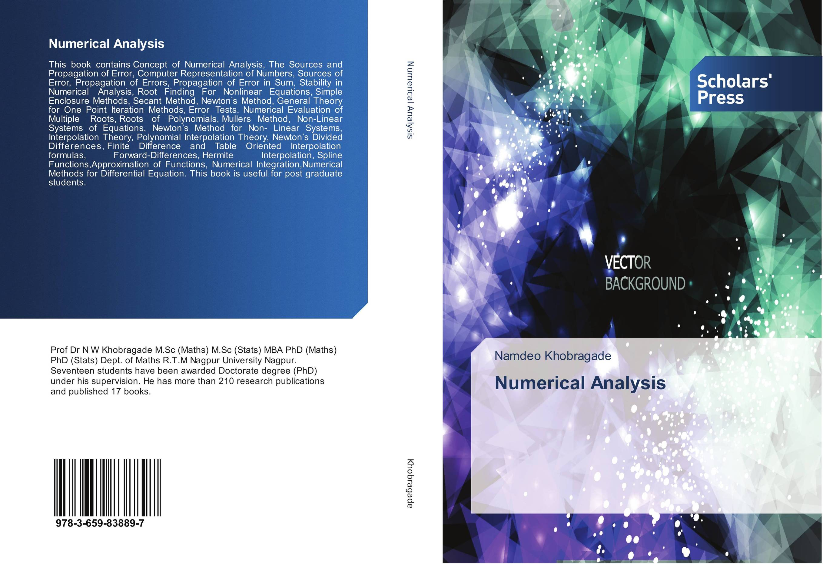 Numerical Analysis numerical methods for linear control systems