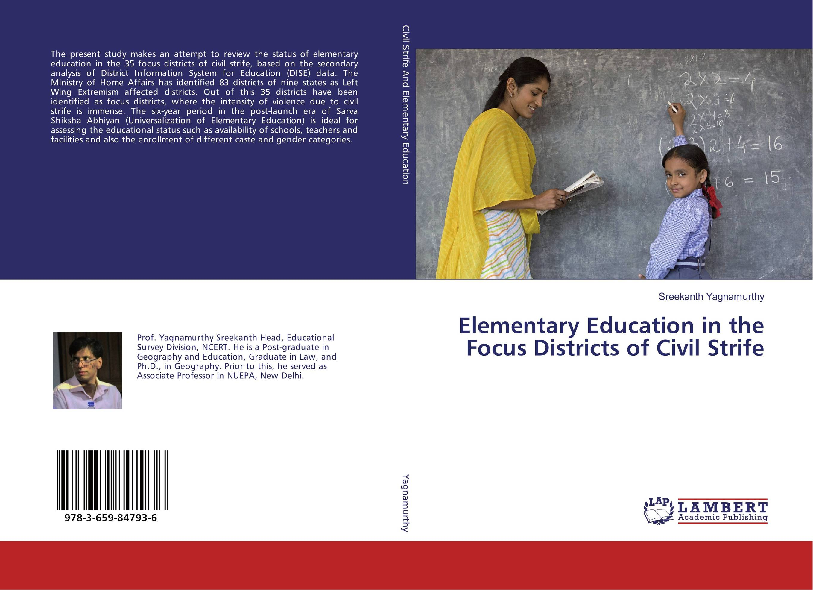 Elementary Education in the Focus Districts of Civil Strife the role of heritage conservation districts