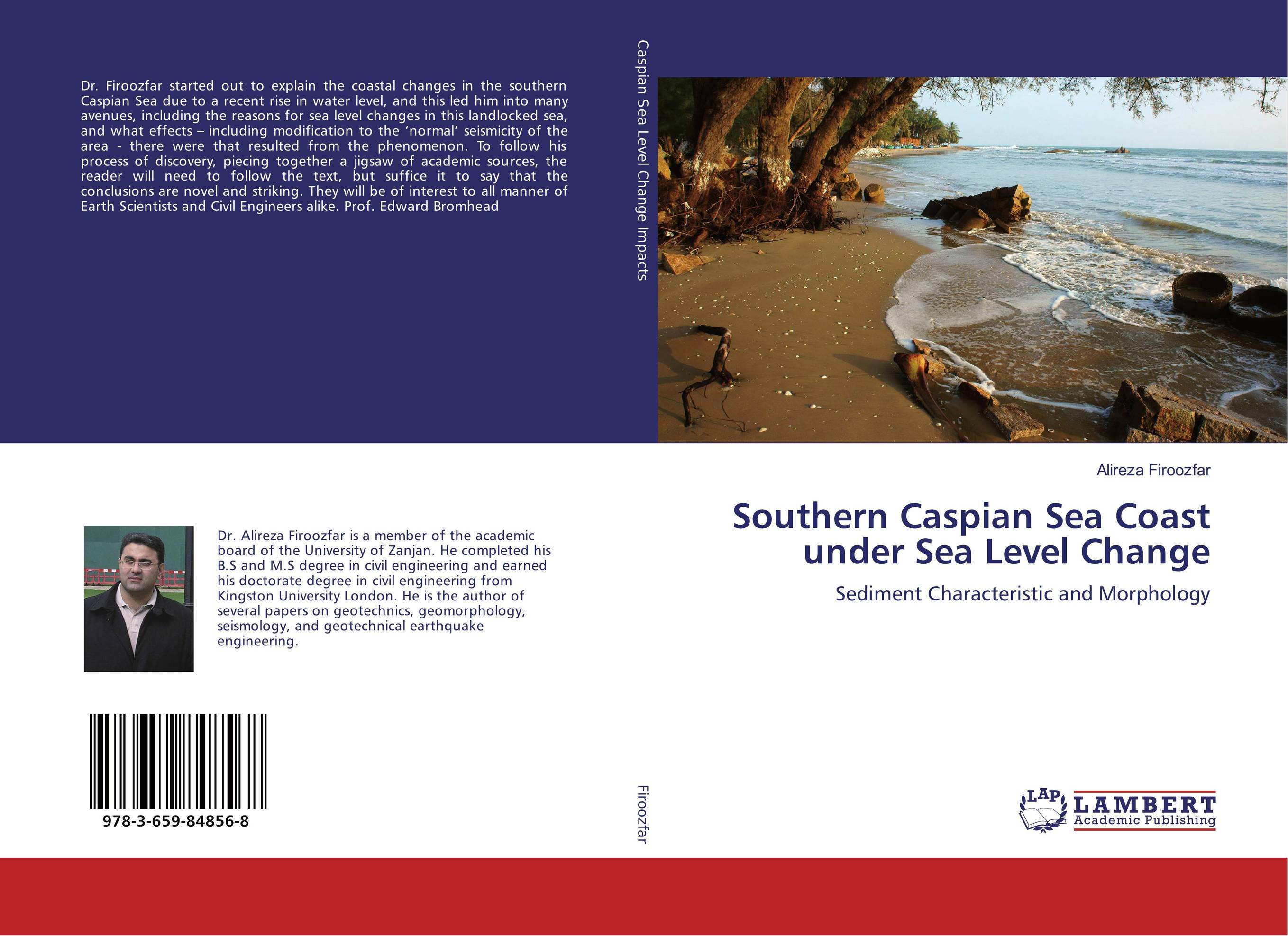 Southern Caspian Sea Coast under Sea Level Change in the sea there are crocodiles