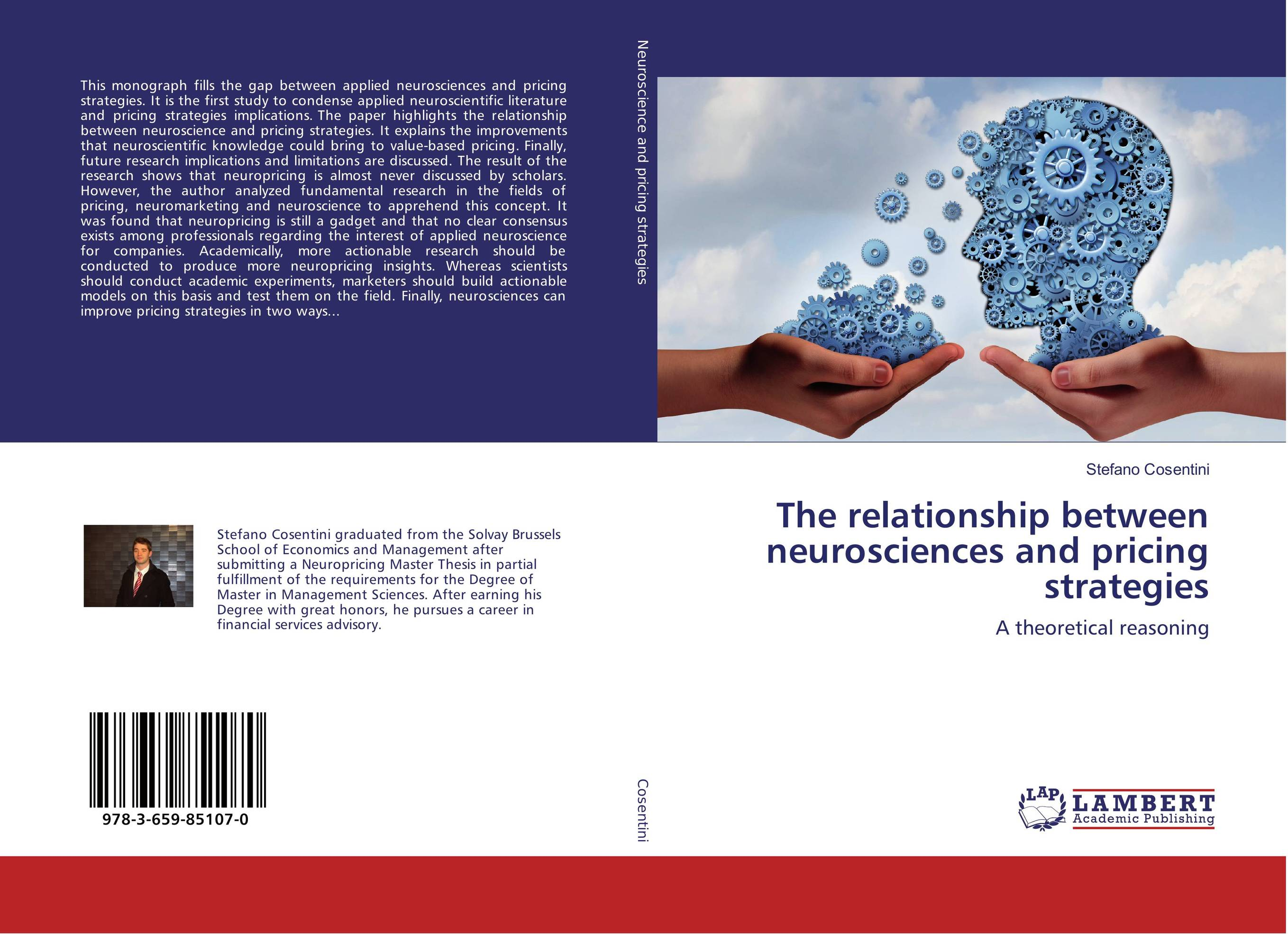 The relationship between neurosciences and pricing strategies