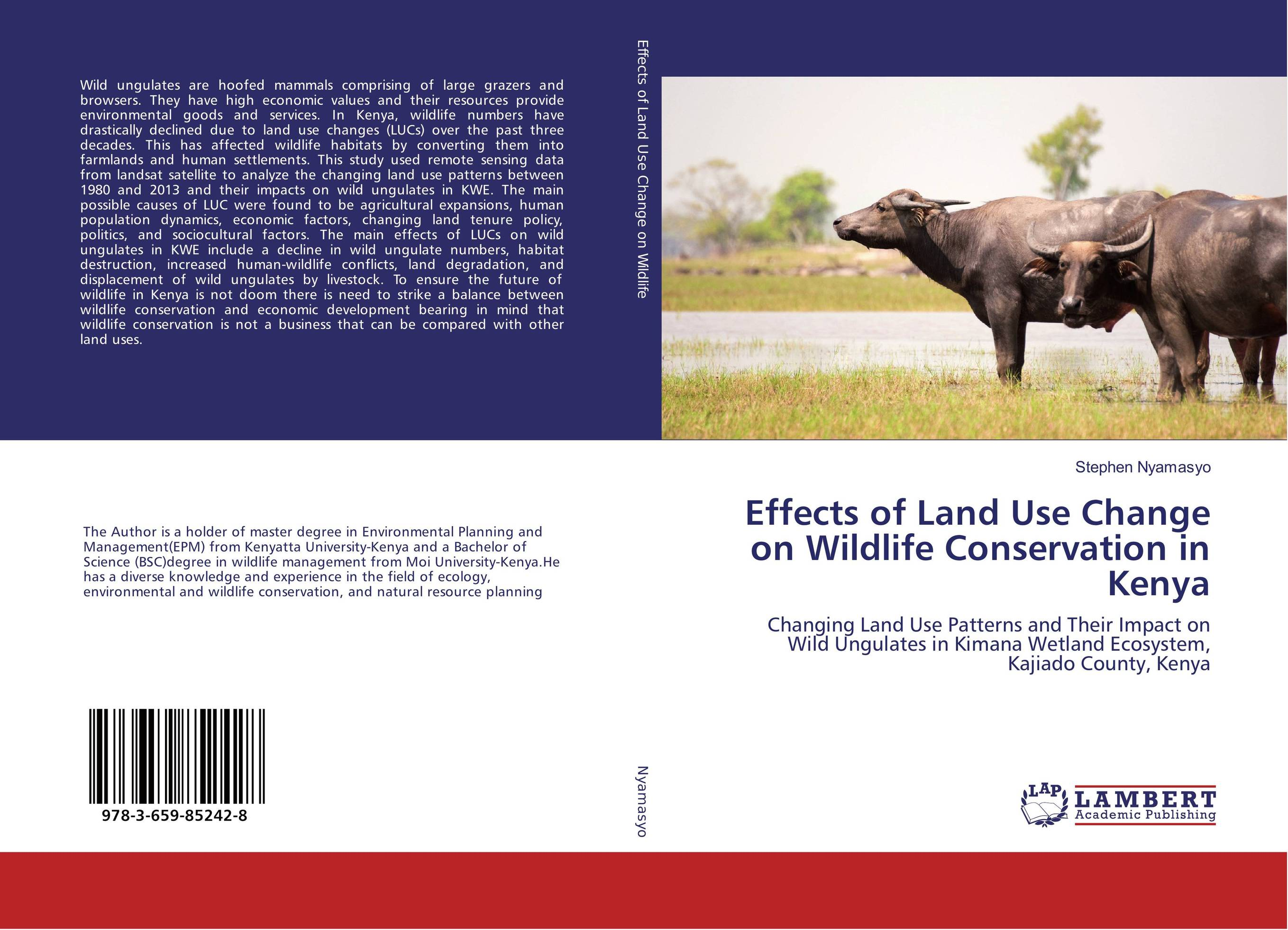 Effects of Land Use Change on Wildlife Conservation in Kenya