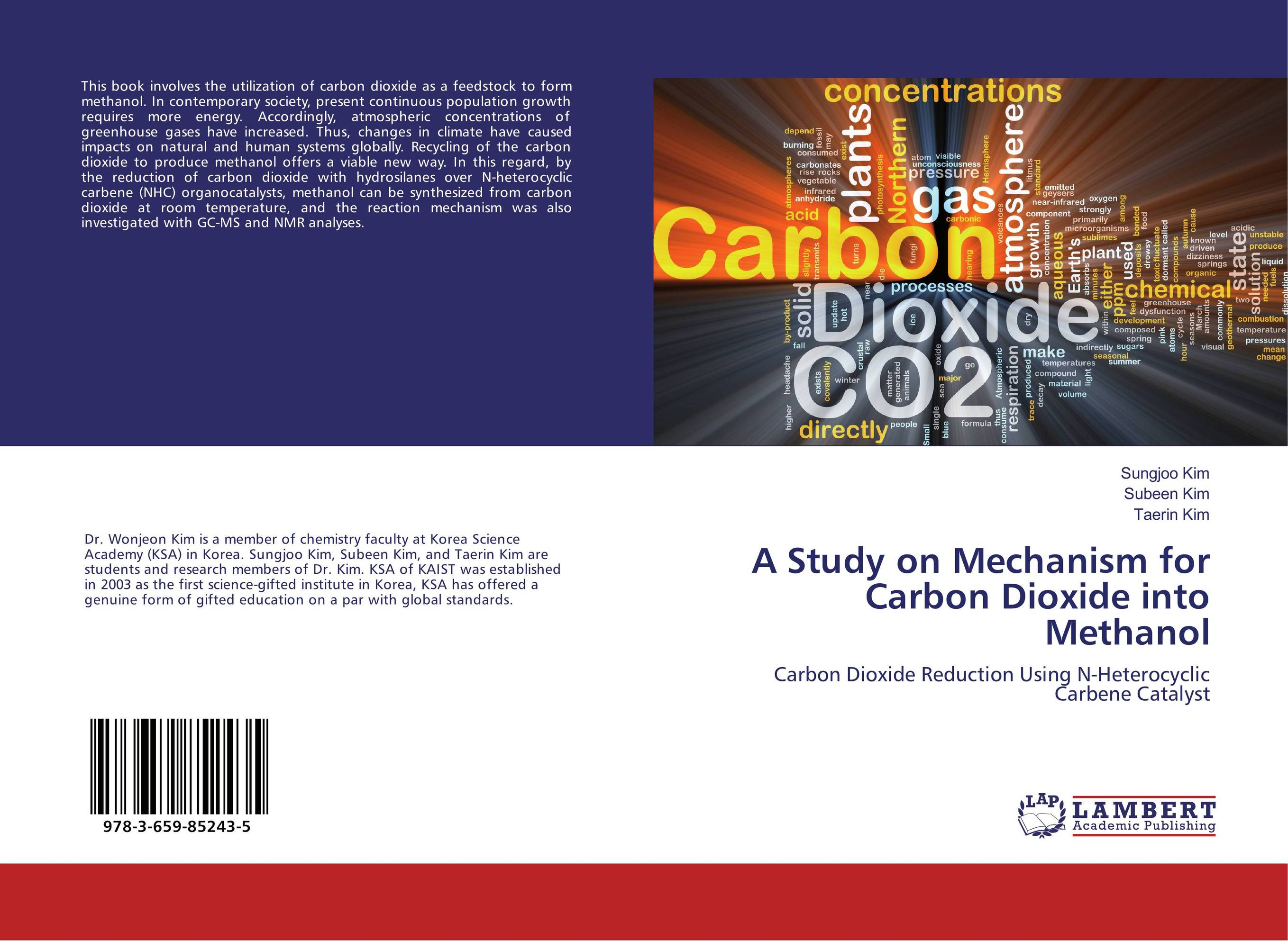 A Study on Mechanism for Carbon Dioxide into Methanol