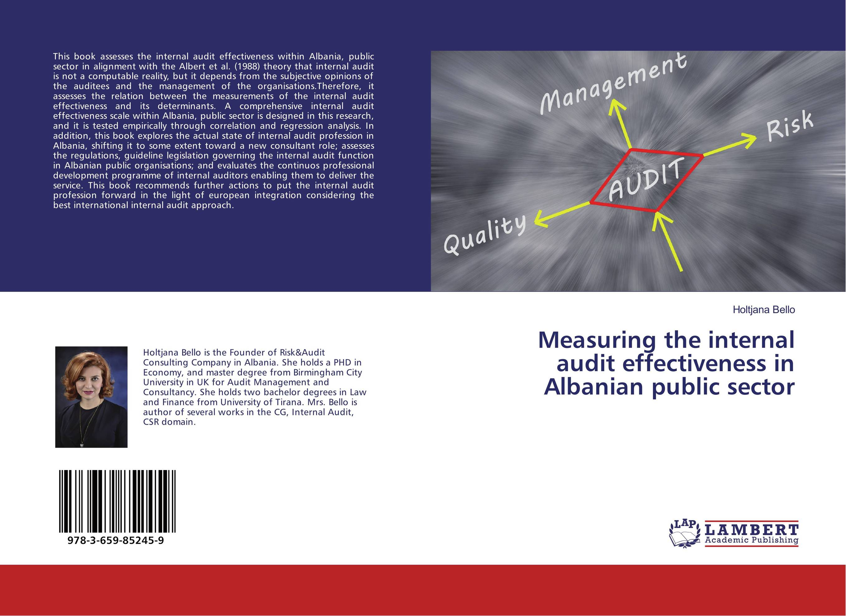 Measuring the internal audit effectiveness in Albanian public sector