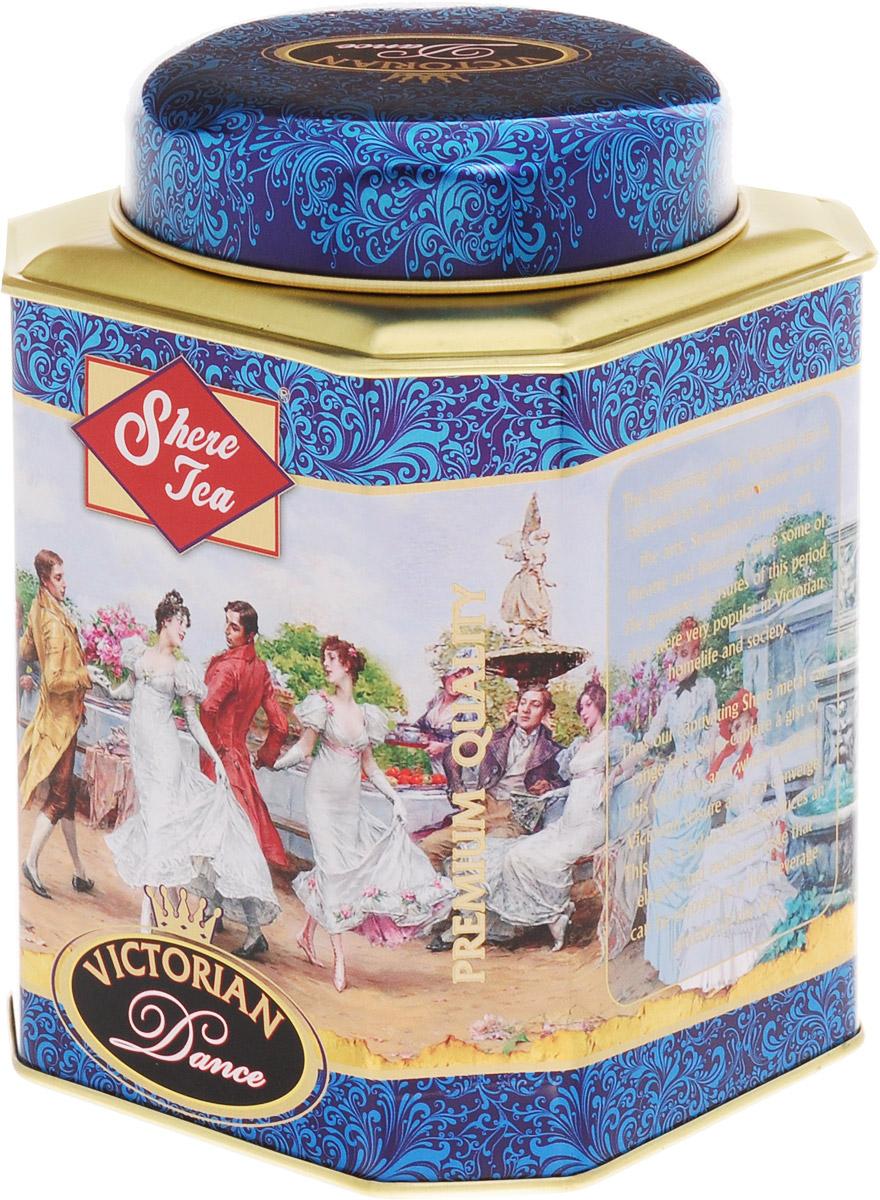 Shere Tea Викторианские танцы чай черный листовой, 250 г4791014009771Чай Shere Tea Викторианские танцы быстро заваривается, дает яркий, прозрачный и интенсивный настой. Вкус полный, терпкий, слегка вяжущий. Аромат чая полный, приятный, выражен достаточно ярко.Стандарт STD 2712 FBOP.Знак в виде Льва с 17 пятнышками на шкуре - это гарантия Цейлонского Чайного Бюро на соответствие чая высокому стандарту качества, установленному Правительством и упакованному только в пределах Шри-Ланки.