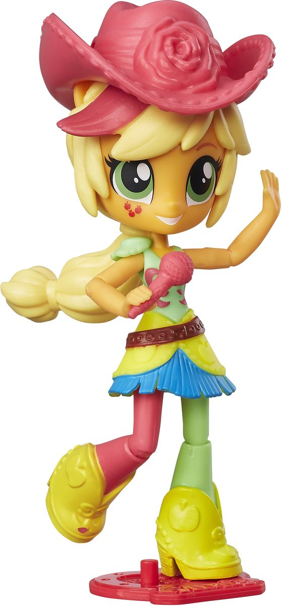 My Little Pony Equestria Girls Мини-кукла Applejack C0866 кукла pullip grell little