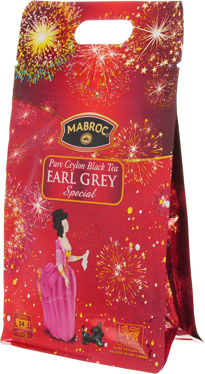 Mabroc Эрл Грей Особый чай черный листовой, 85 г mabroc ночь 1000 звезд чай листовой 85 г