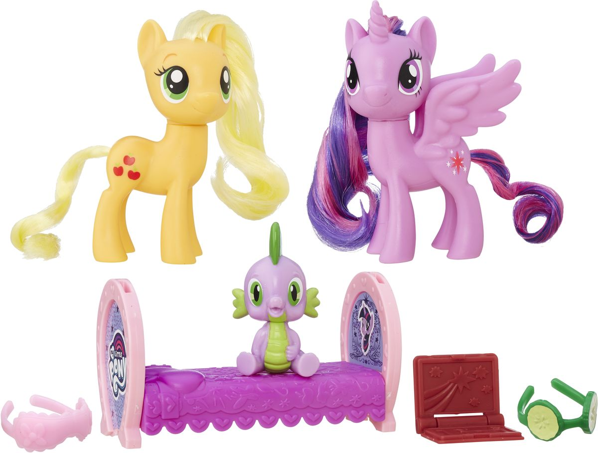 My Little Pony Набор фигурок Princess Twilight Sparkle & Applejack - Фигурки