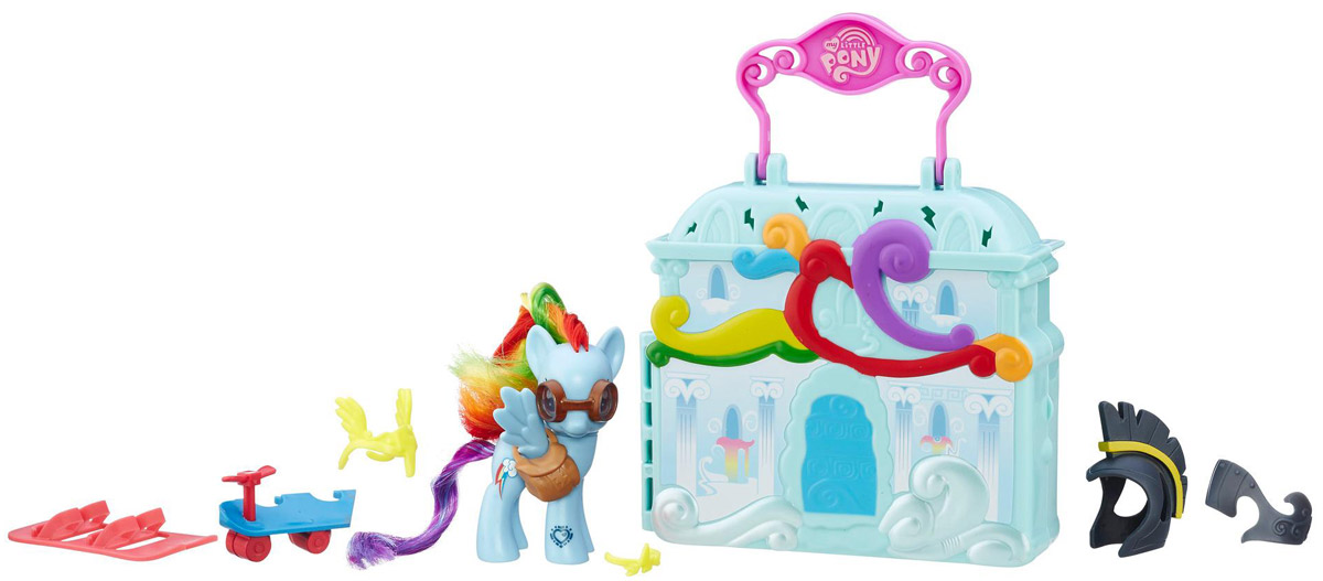 My Little Pony Игровой набор Cloudominium Rainbow Dash my little pony игровой набор dress shop rarity