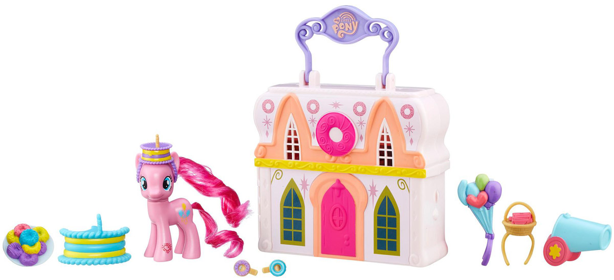 My Little Pony Игровой набор Doughnut Shop Pinkie Pie my little pony игровой набор dress shop rarity