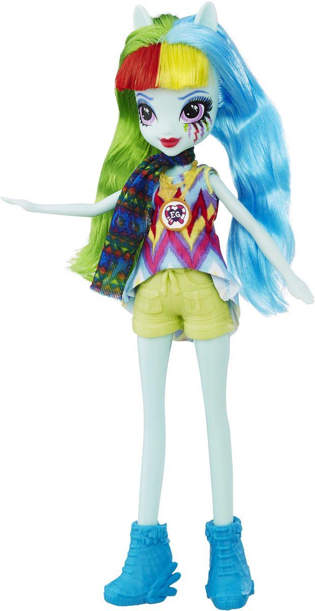 My Little Pony Equestria Girls Кукла Rainbow Dash my little pony игровой набор design a pony rainbow dash