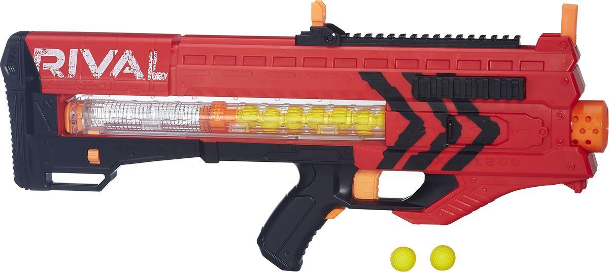 Nerf Бластер Zeus MXV-1200 цвет красный - Игрушечное оружие