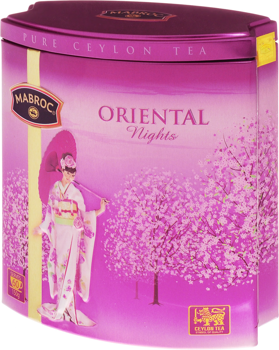 Mabroc Восточная ночь чай листовой, 150 г4791029015279Листовой чай Mabroc Восточная ночь - это волшебный купаж, объединяющий зеленый и черный цейлонский чай, лепестки розы и василька, клубники для усиления его фруктового вкуса. И в это восхитительное многообразие компонентов добавлена цитрусовая нотка.Знак в виде Льва с 17 пятнышками на шкуре - это гарантия Цейлонского Чайного Бюро на соответствие чая высокому стандарту качества, установленному Правительством и упакованному только в пределах Шри-Ланки.