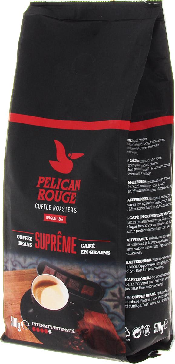 Pelican Rouge Supreme кофе в зернах, 500 г pelican в цветочек розовые