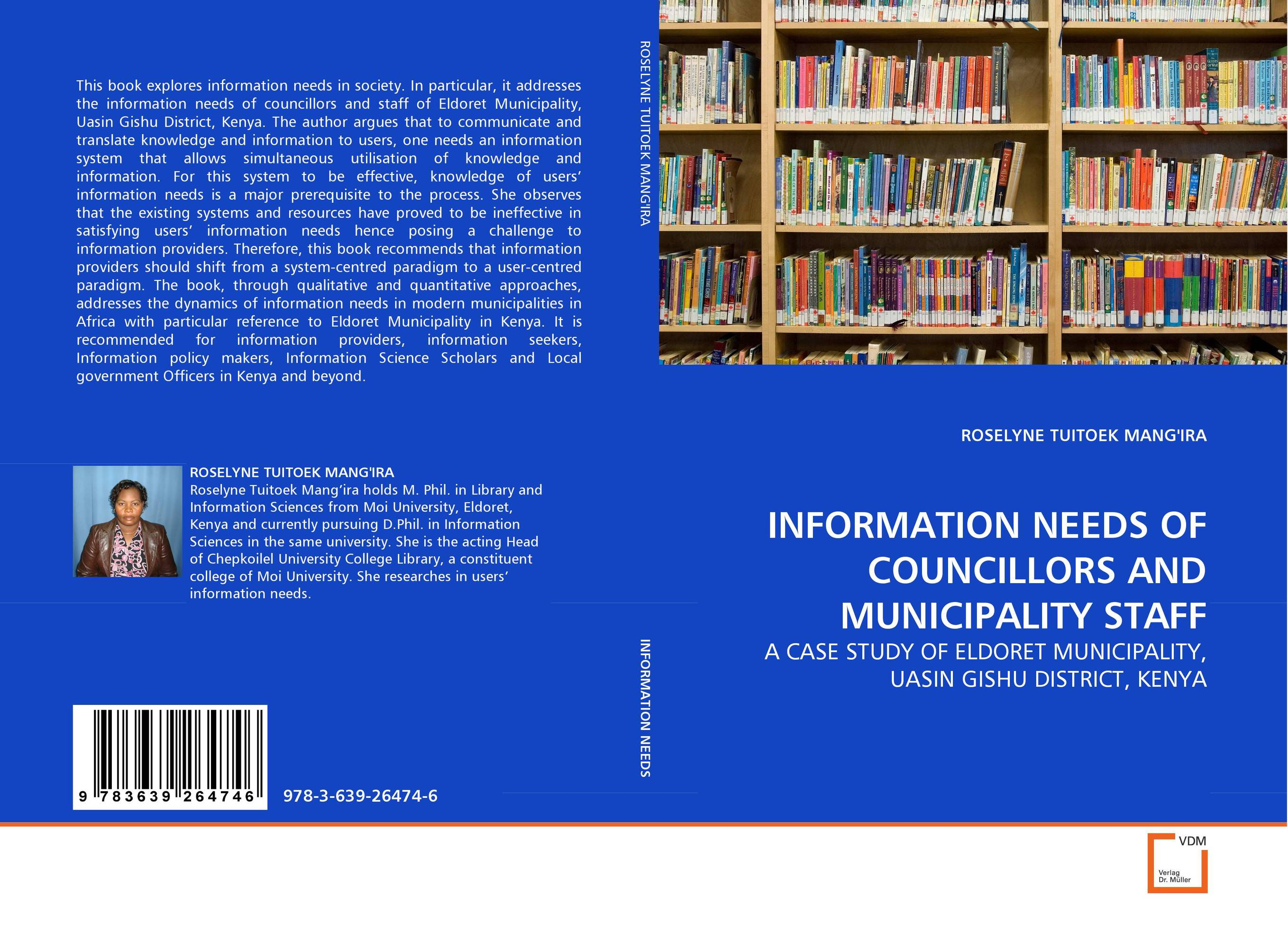 INFORMATION NEEDS OF...