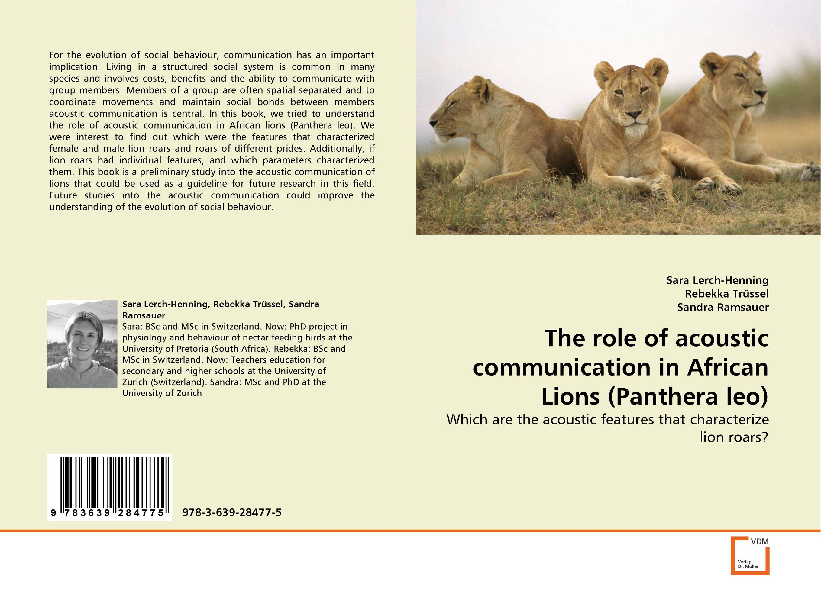 The role of acoustic communication in African Lions (Panthera leo) lung model with larynx and heart 7 parts advanced lung and heart model respiratory system model