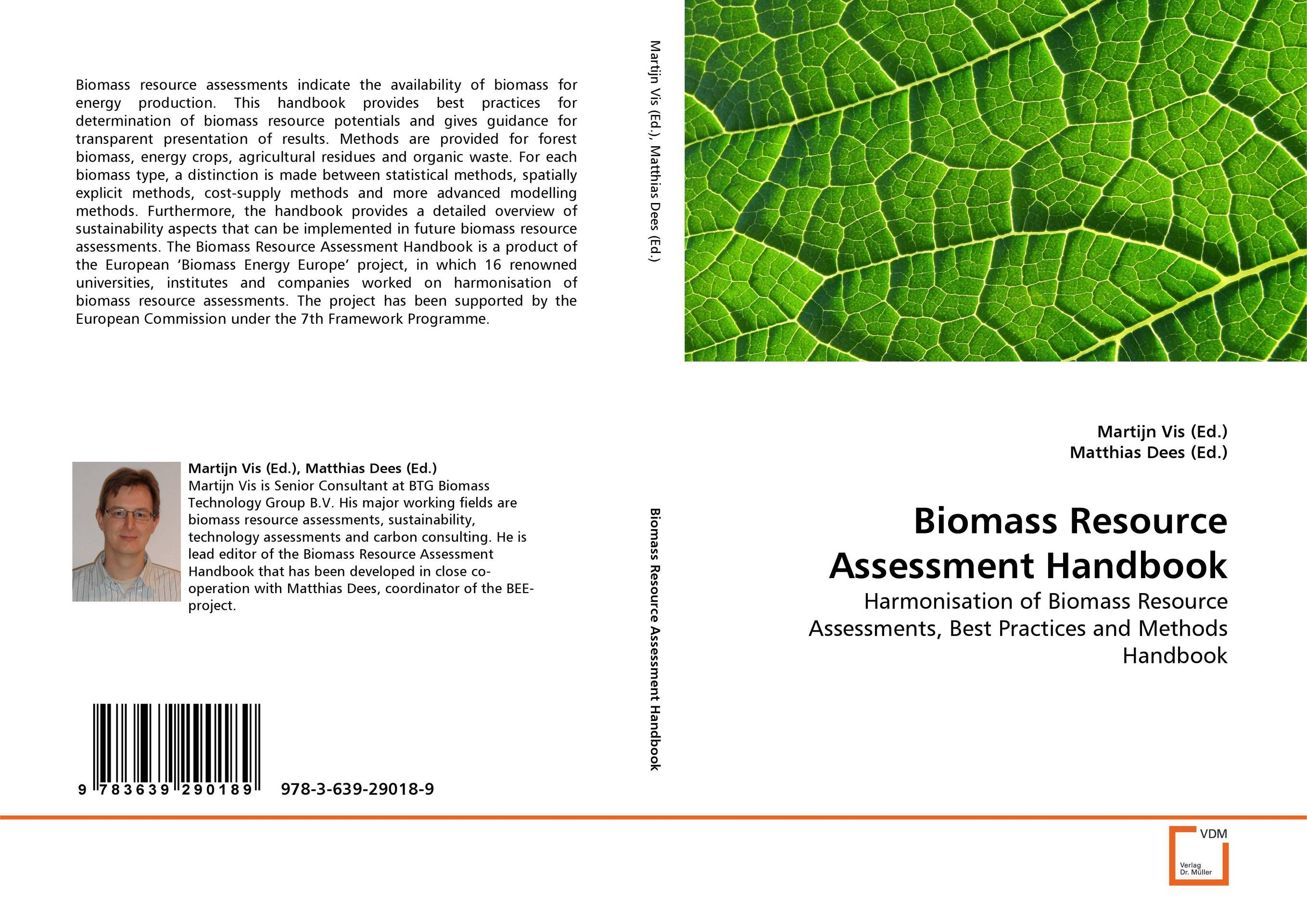 Biomass Resource Assessment Handbook solar energy modelling and assessing photovoltaic energy