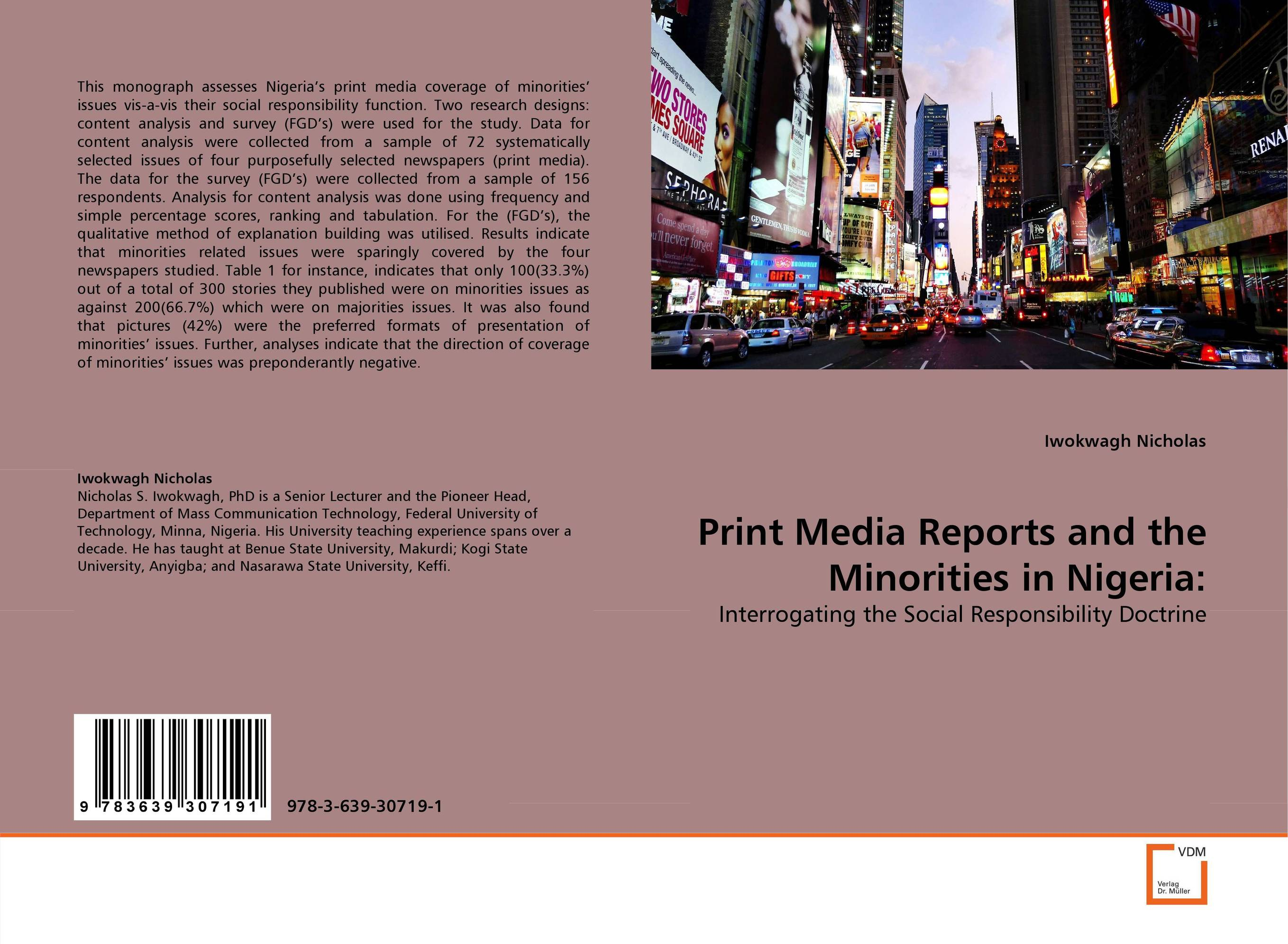 Print Media Reports and the Minorities in Nigeria: linguistic minorities a comparative analysis