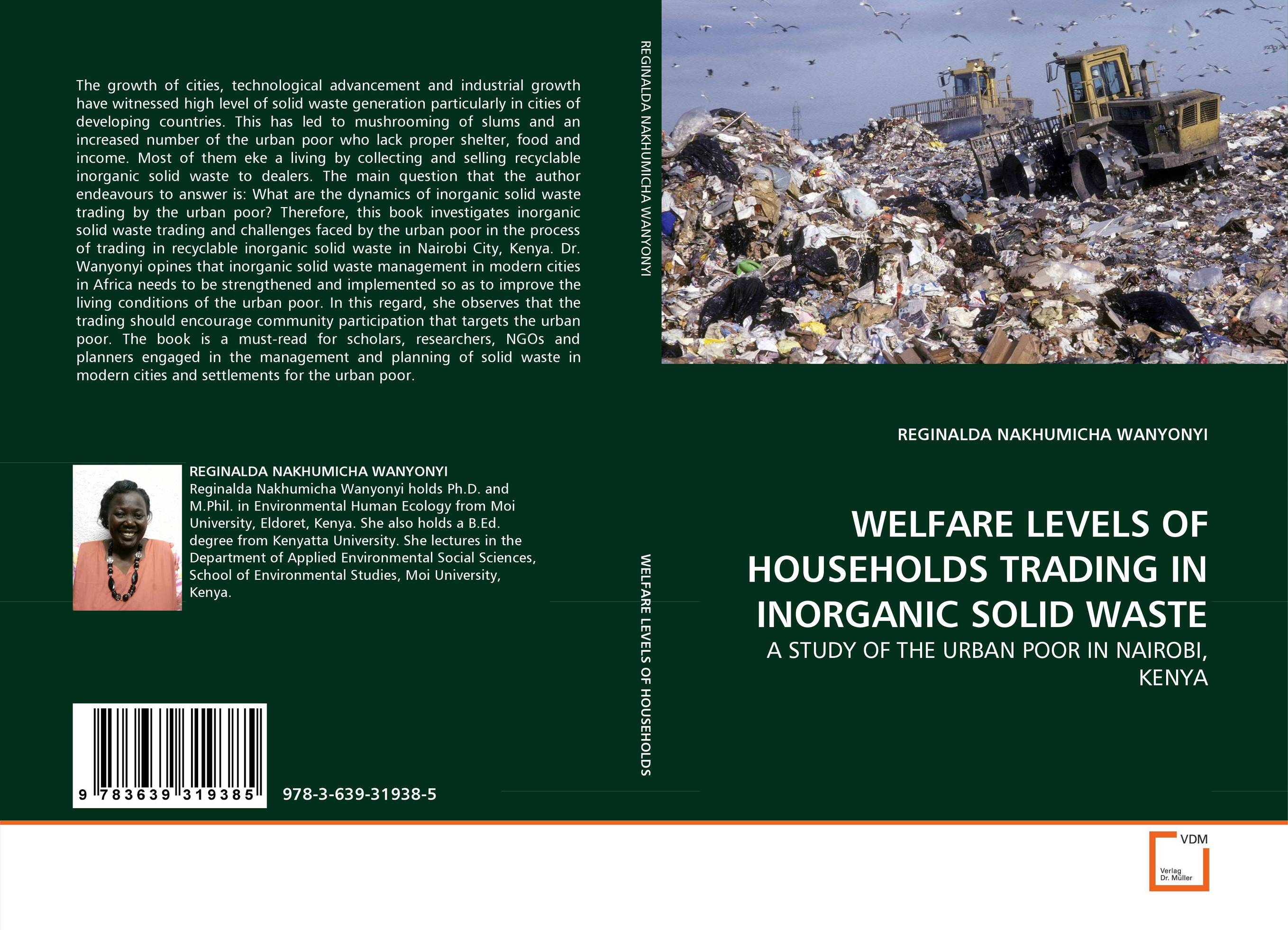 WELFARE LEVELS OF HOUSEHOLDS TRADING IN INORGANIC SOLID WASTE urban infrastructure for solid waste management