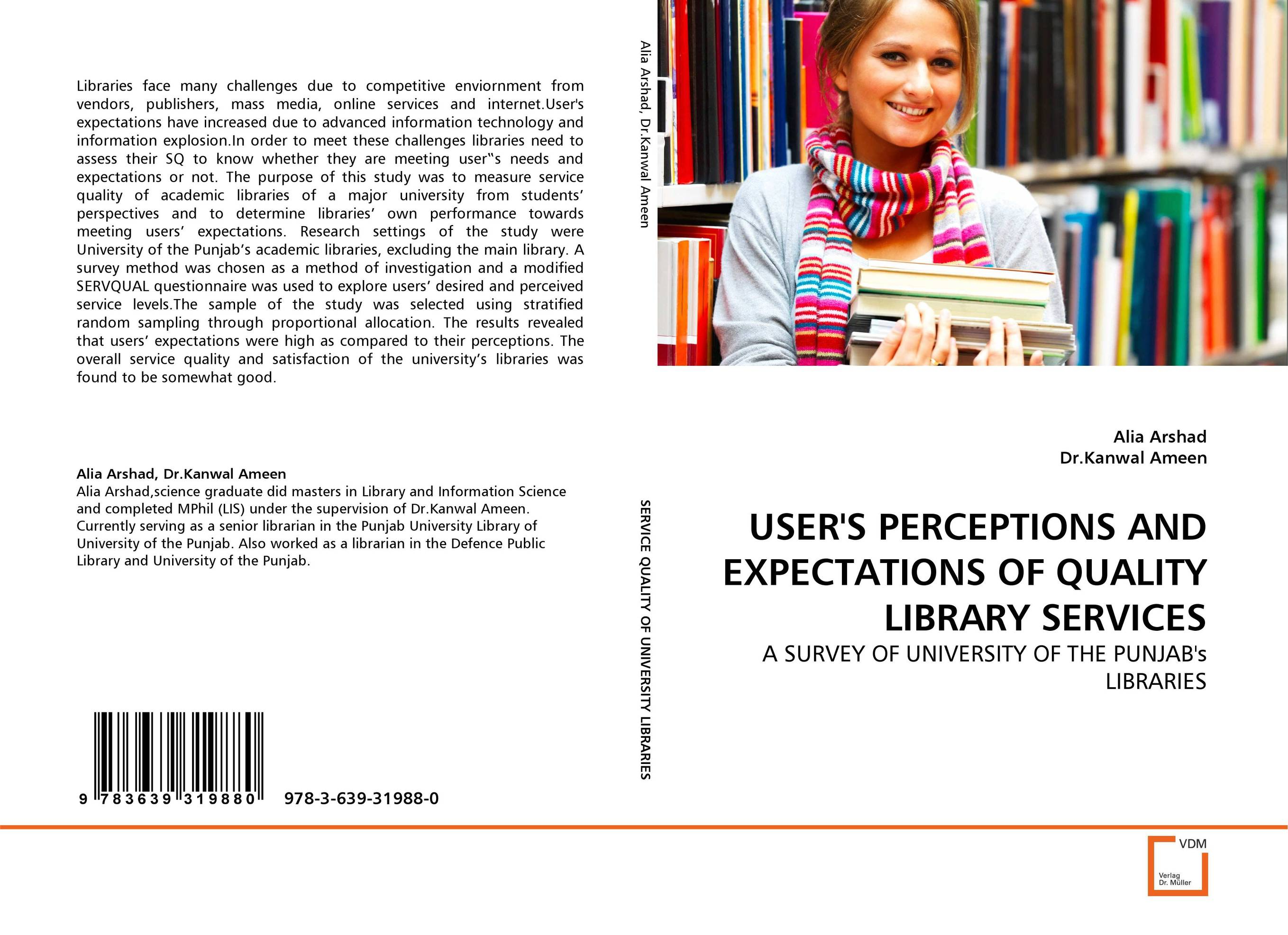 USER''S PERCEPTIONS AND EXPECTATIONS OF QUALITY LIBRARY SERVICES the news a user s manual