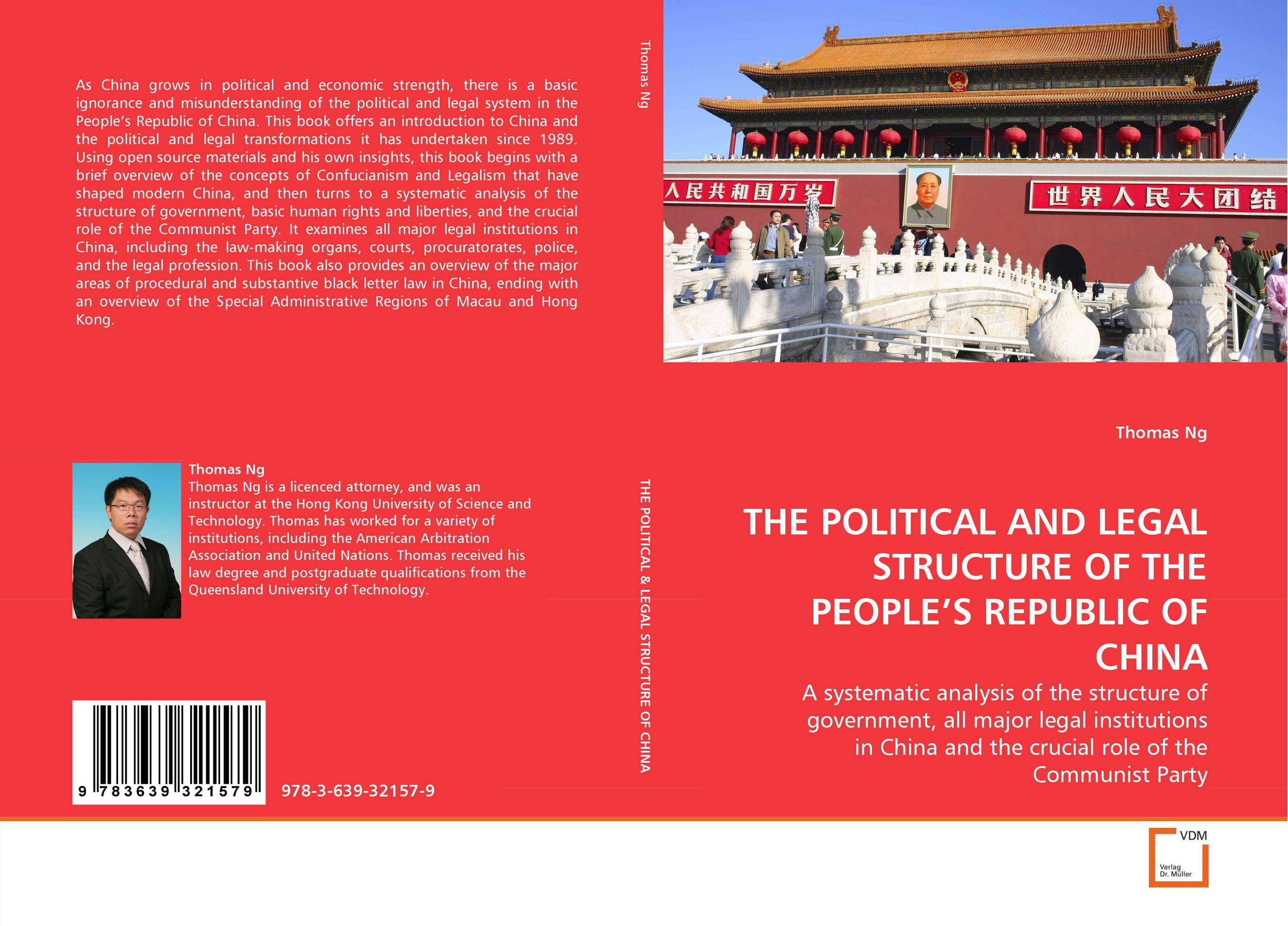 THE POLITICAL AND LEGAL STRUCTURE OF THE PEOPLE''S REPUBLIC OF CHINA the role of legal feeling in the criminal legislation
