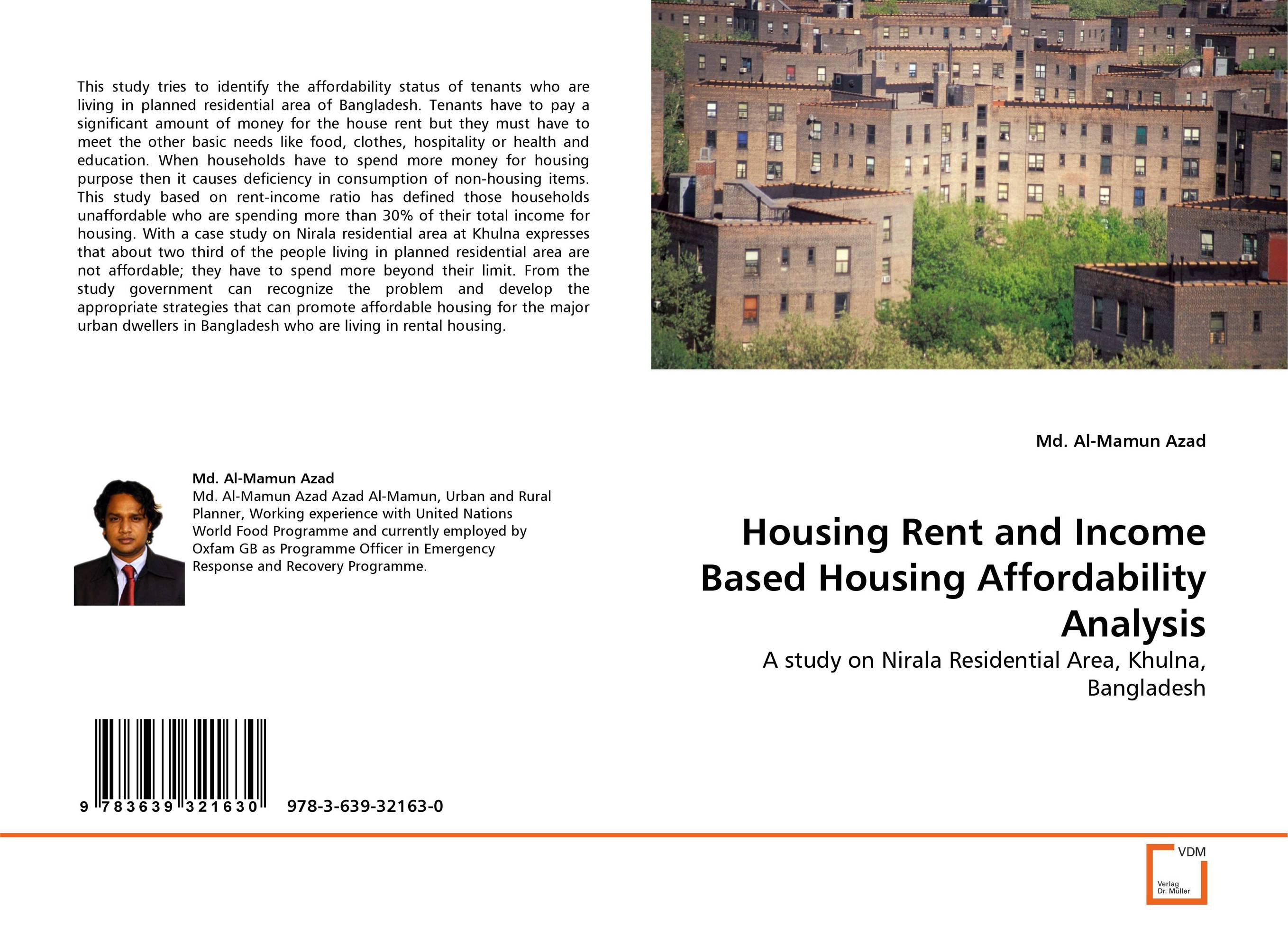 Housing Rent and Income Based Housing Affordability Analysis
