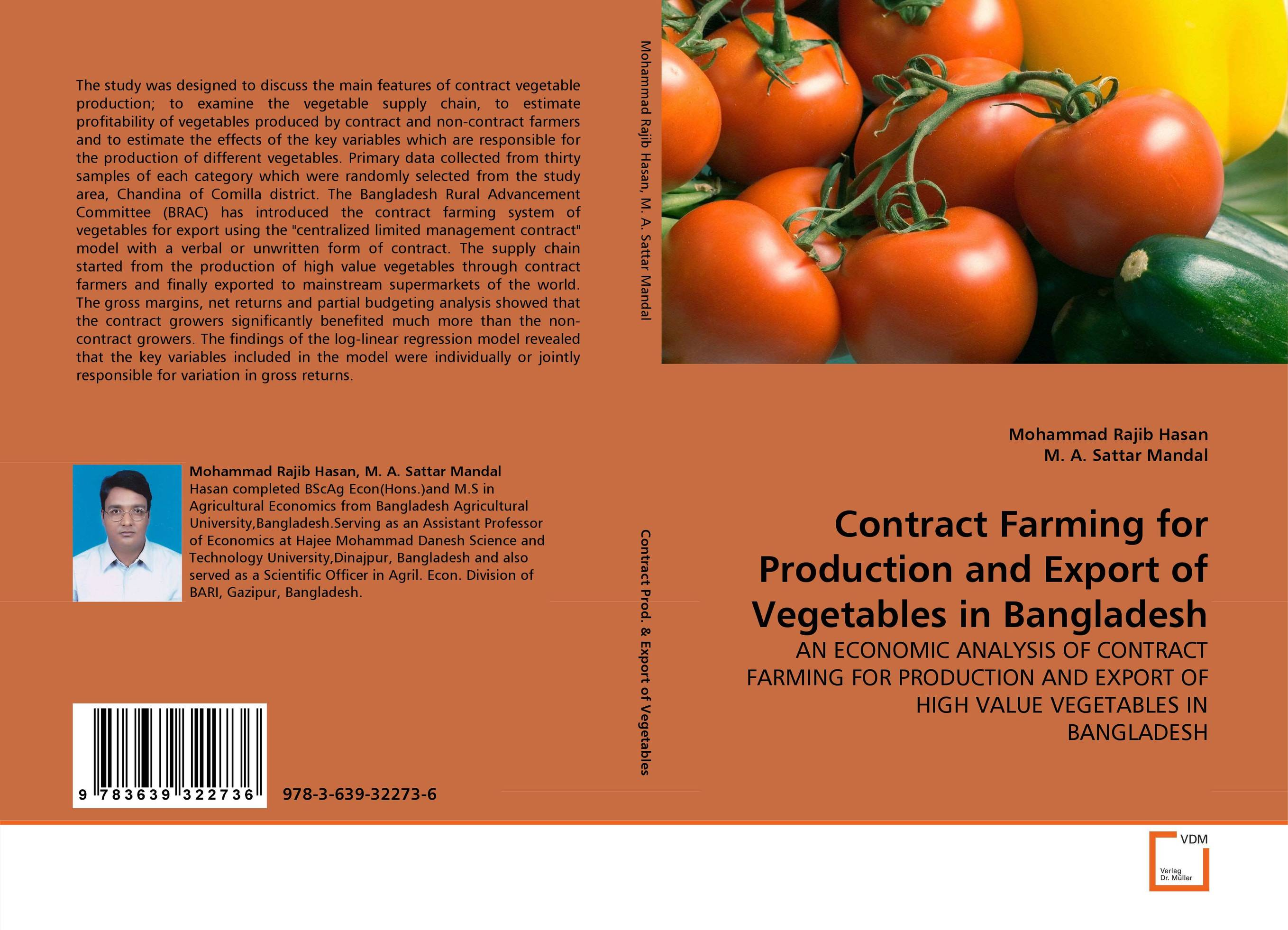 Contract Farming for Production and Export of Vegetables in Bangladesh