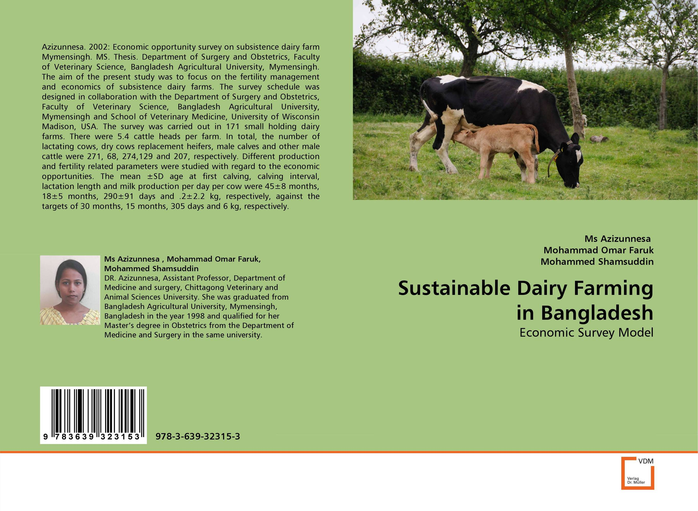 Sustainable Dairy Farming in Bangladesh current fertility status in cattle of mini dairy farms