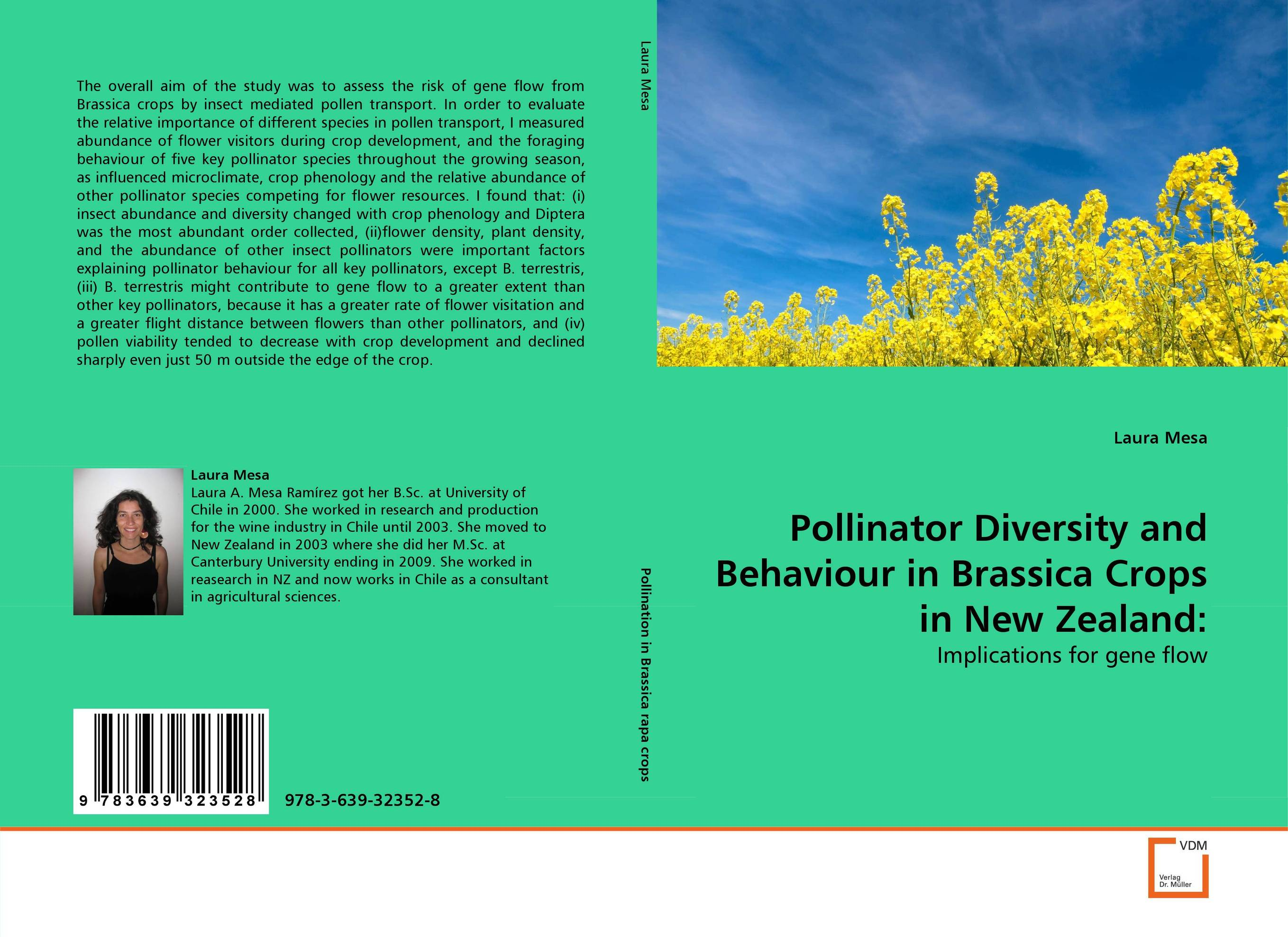 Pollinator Diversity and Behaviour in Brassica Crops in New Zealand: effects of grazing on insect pollinator diversity and abundance
