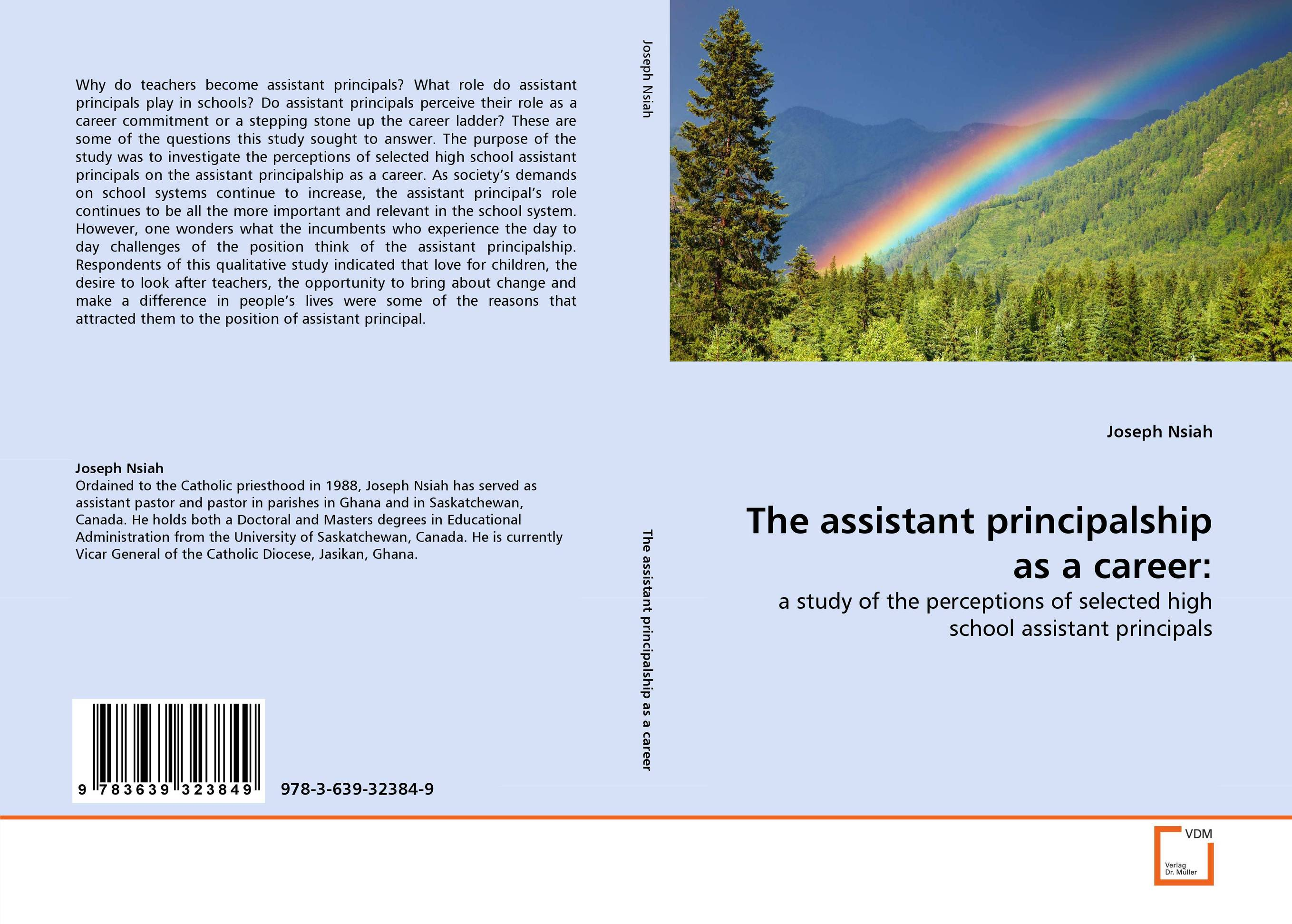 The assistant principalship as a career: the assistant principalship as a career